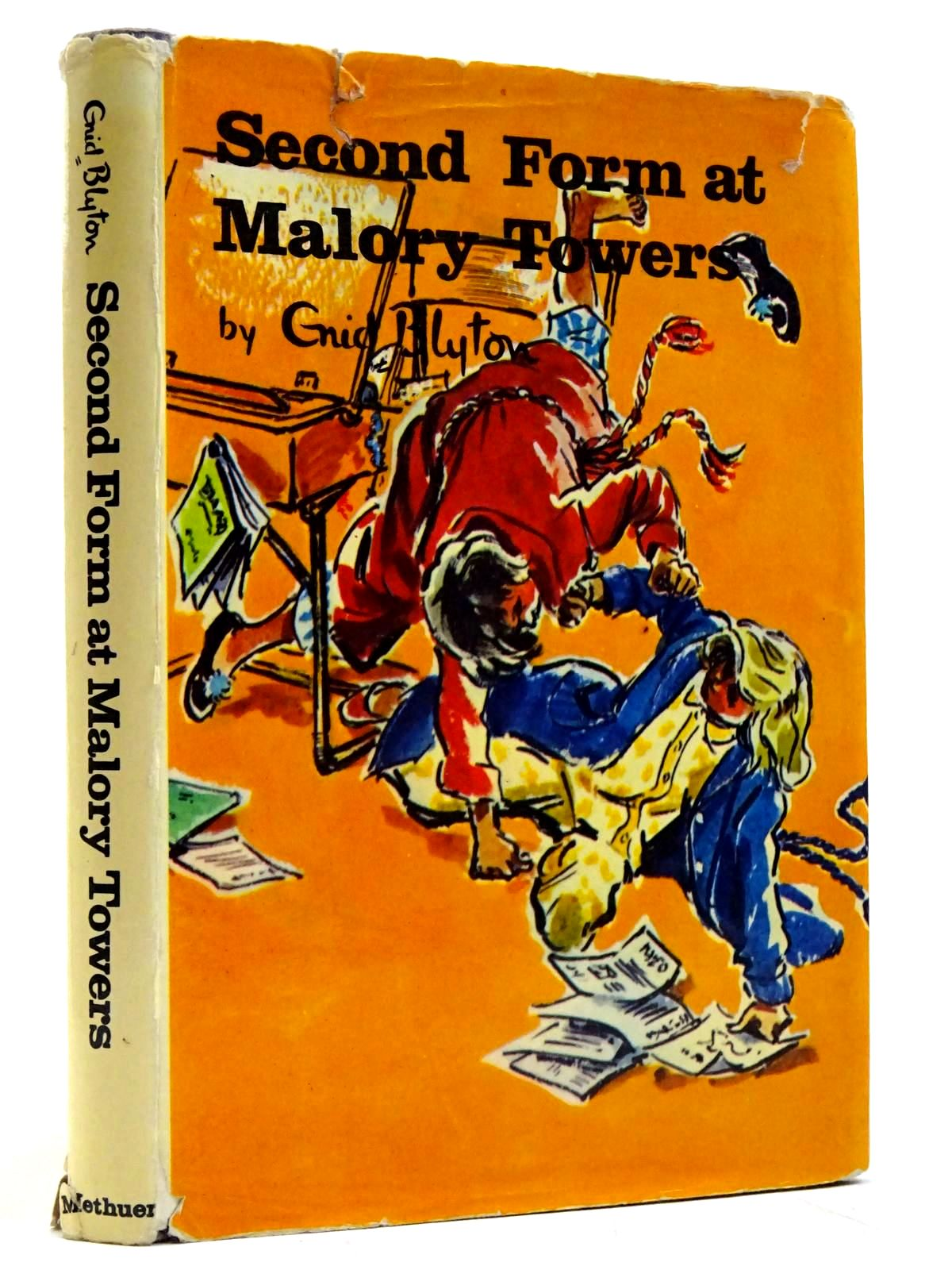 Photo of SECOND FORM AT MALORY TOWERS written by Blyton, Enid illustrated by Chapple, Jenny published by Methuen & Co. Ltd. (STOCK CODE: 2131535)  for sale by Stella & Rose's Books