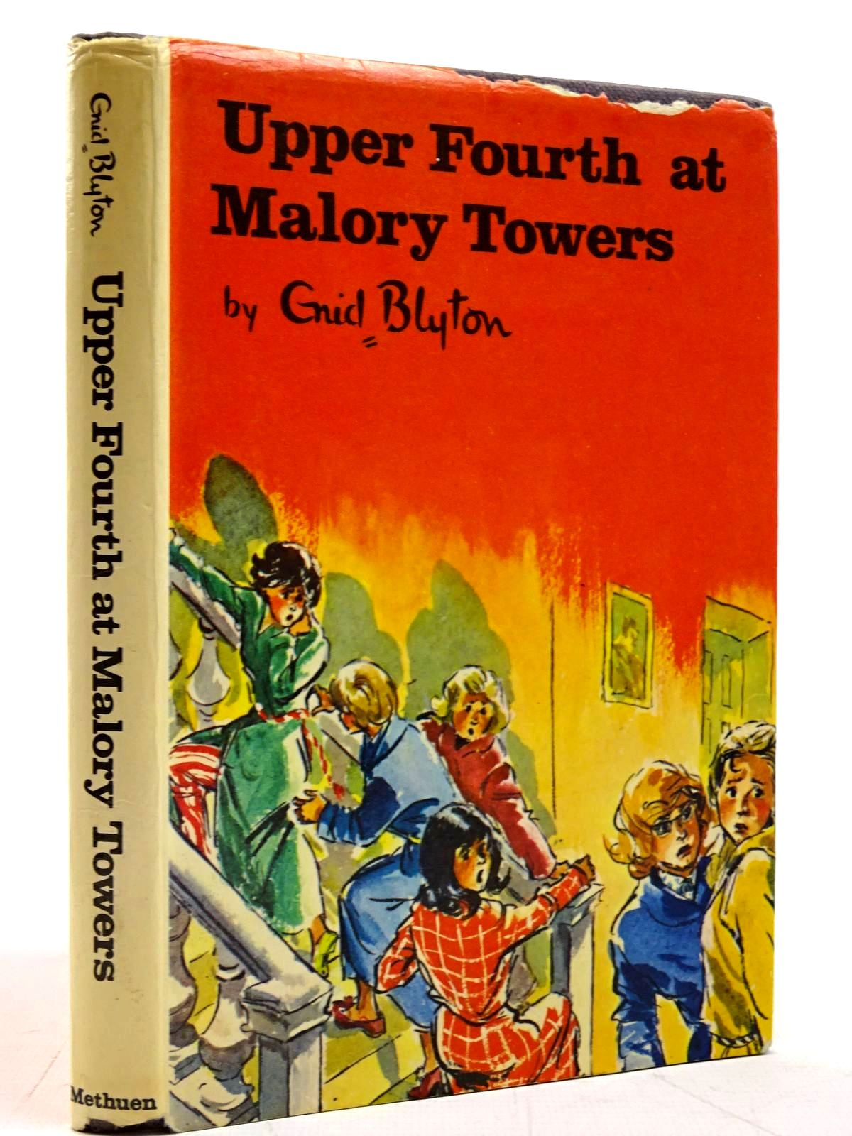 Photo of UPPER FOURTH AT MALORY TOWERS written by Blyton, Enid illustrated by Chapple, Jenny published by Methuen Children's Books (STOCK CODE: 2131538)  for sale by Stella & Rose's Books