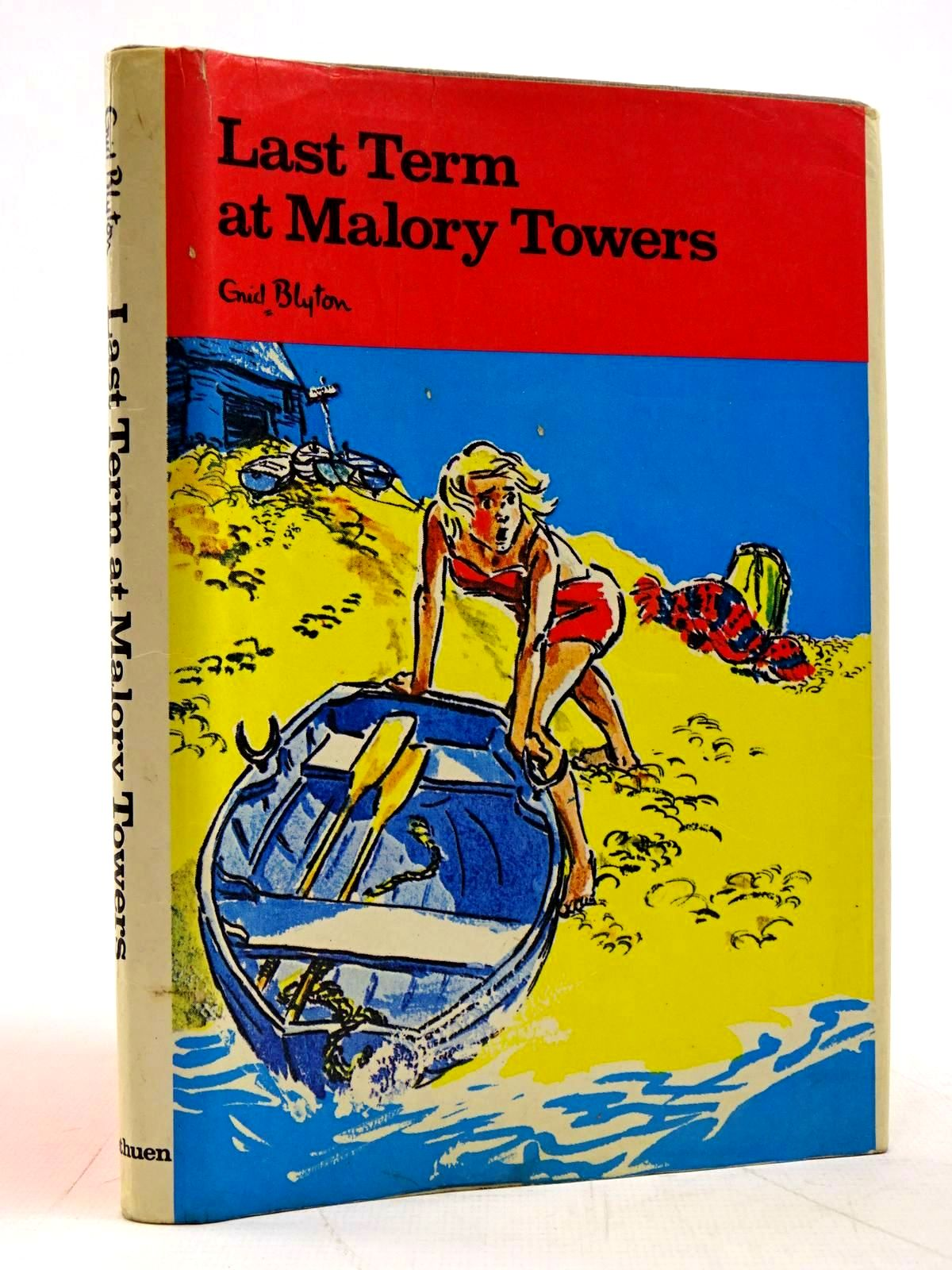 Photo of LAST TERM AT MALORY TOWERS written by Blyton, Enid illustrated by Chapple, Jenny published by Methuen Children's Books (STOCK CODE: 2131539)  for sale by Stella & Rose's Books