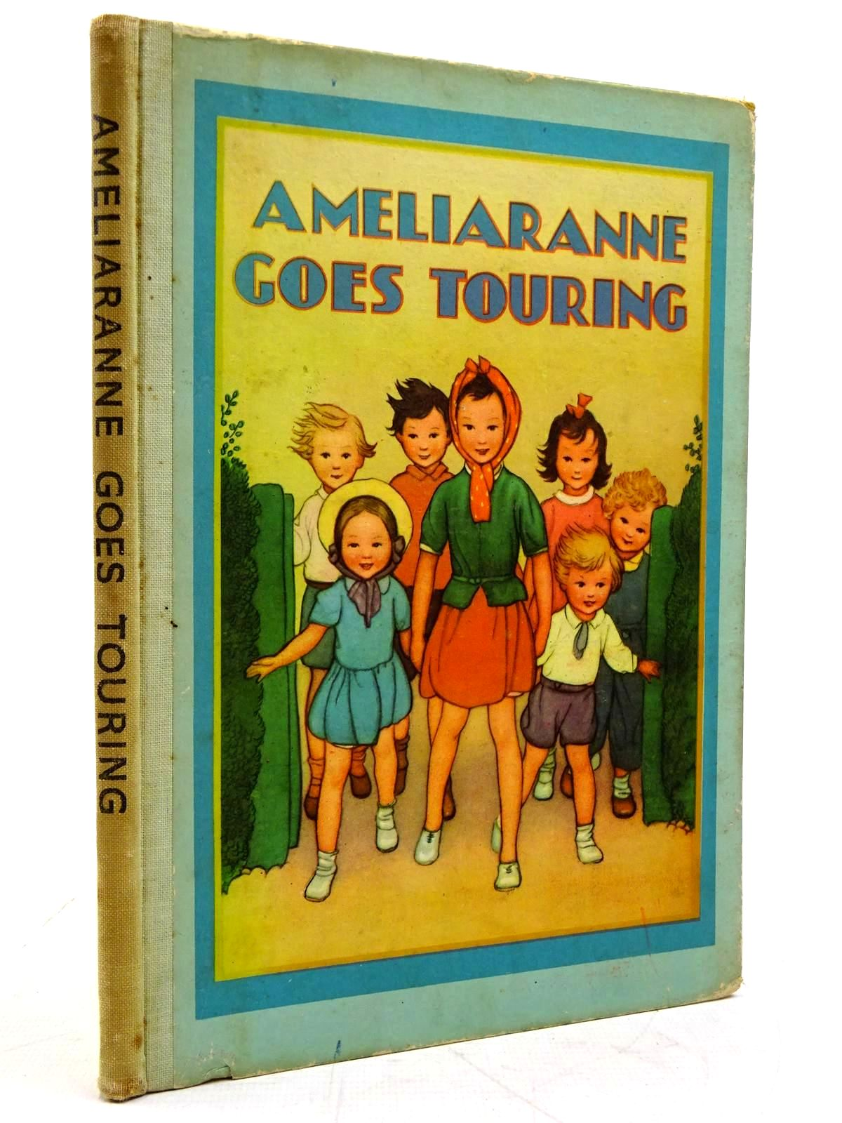 Photo of AMELIARANNE GOES TOURING written by Heward, Constance illustrated by Pearse, S.B. published by George G. Harrap & Co. Ltd. (STOCK CODE: 2131558)  for sale by Stella & Rose's Books