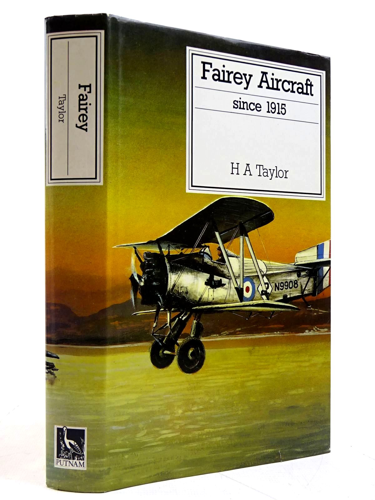 Photo of FAIREY AIRCRAFT SINCE 1915 written by Taylor, H.A. published by Putnam (STOCK CODE: 2131588)  for sale by Stella & Rose's Books