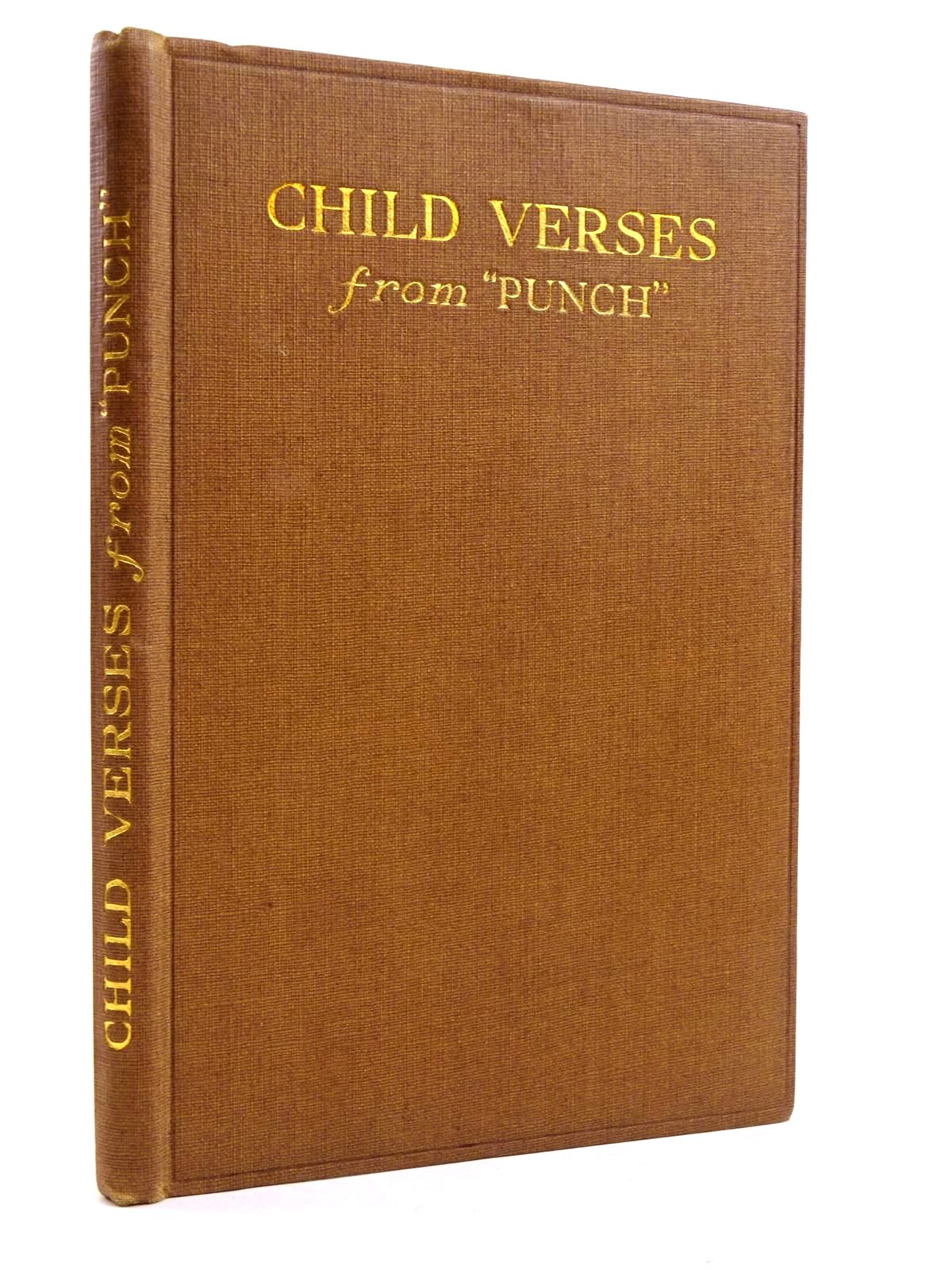 Photo of CHILD VERSES FROM 'PUNCH'- Stock Number: 2131626