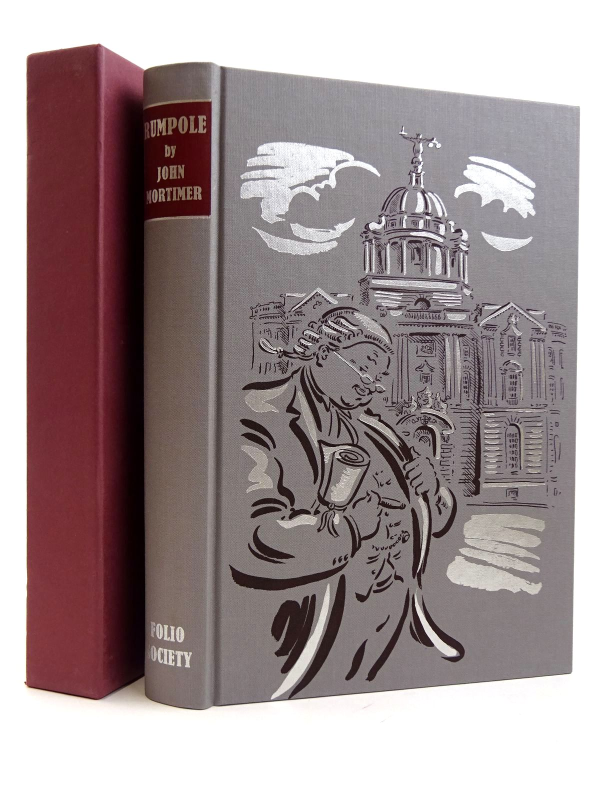Photo of RUMPOLE written by Mortimer, John illustrated by Cox, Paul published by Folio Society (STOCK CODE: 2131645)  for sale by Stella & Rose's Books