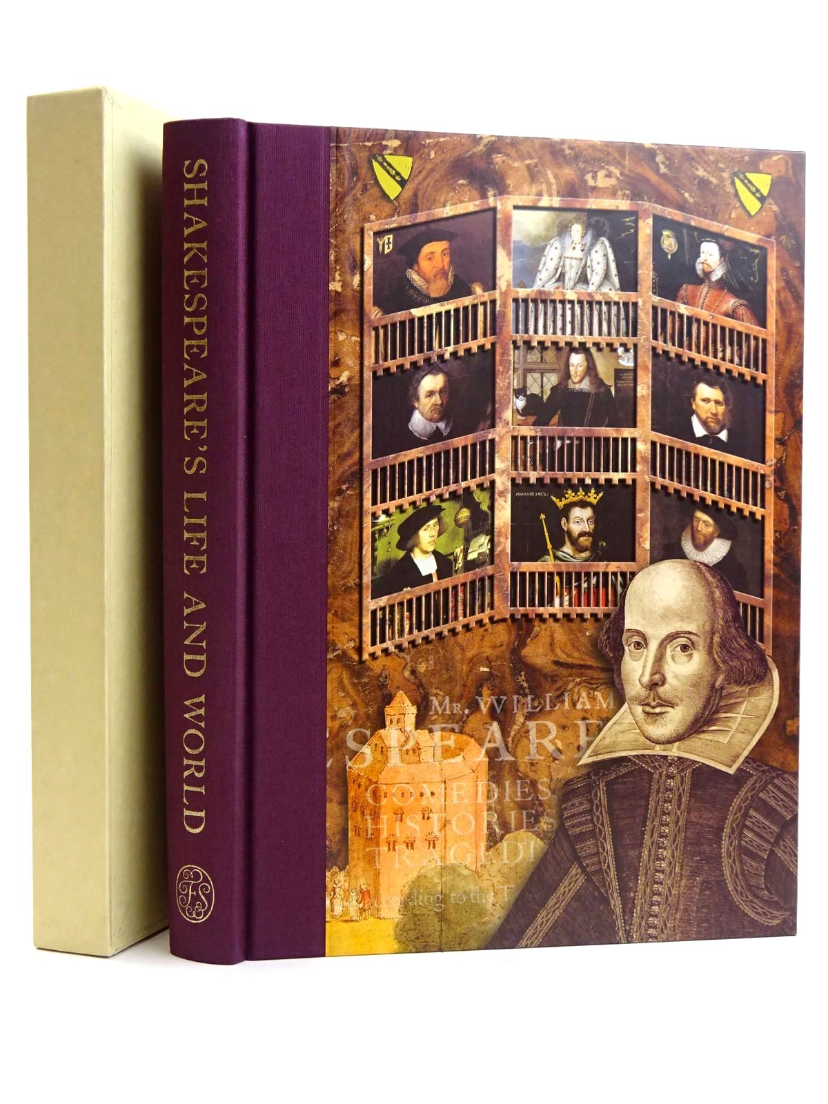 Photo of SHAKESPEARE'S LIFE AND WORLD written by Duncan-Jones, Katherine Shakespeare, William published by Folio Society (STOCK CODE: 2131649)  for sale by Stella & Rose's Books