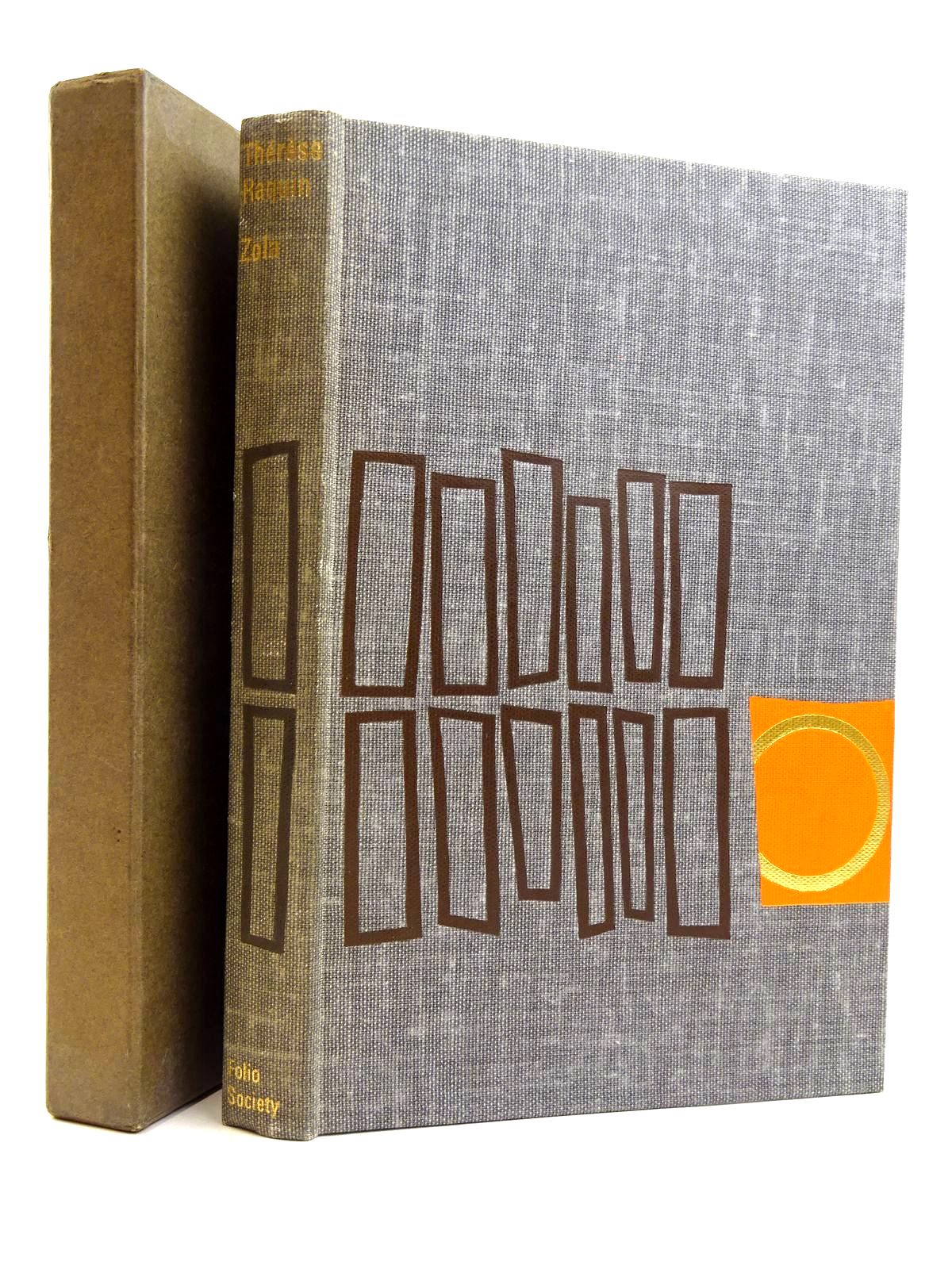 Photo of THERESE RAQUIN written by Zola, Emile<br />Tancock, Leonard illustrated by Kass, Janos published by Folio Society (STOCK CODE: 2131651)  for sale by Stella & Rose's Books