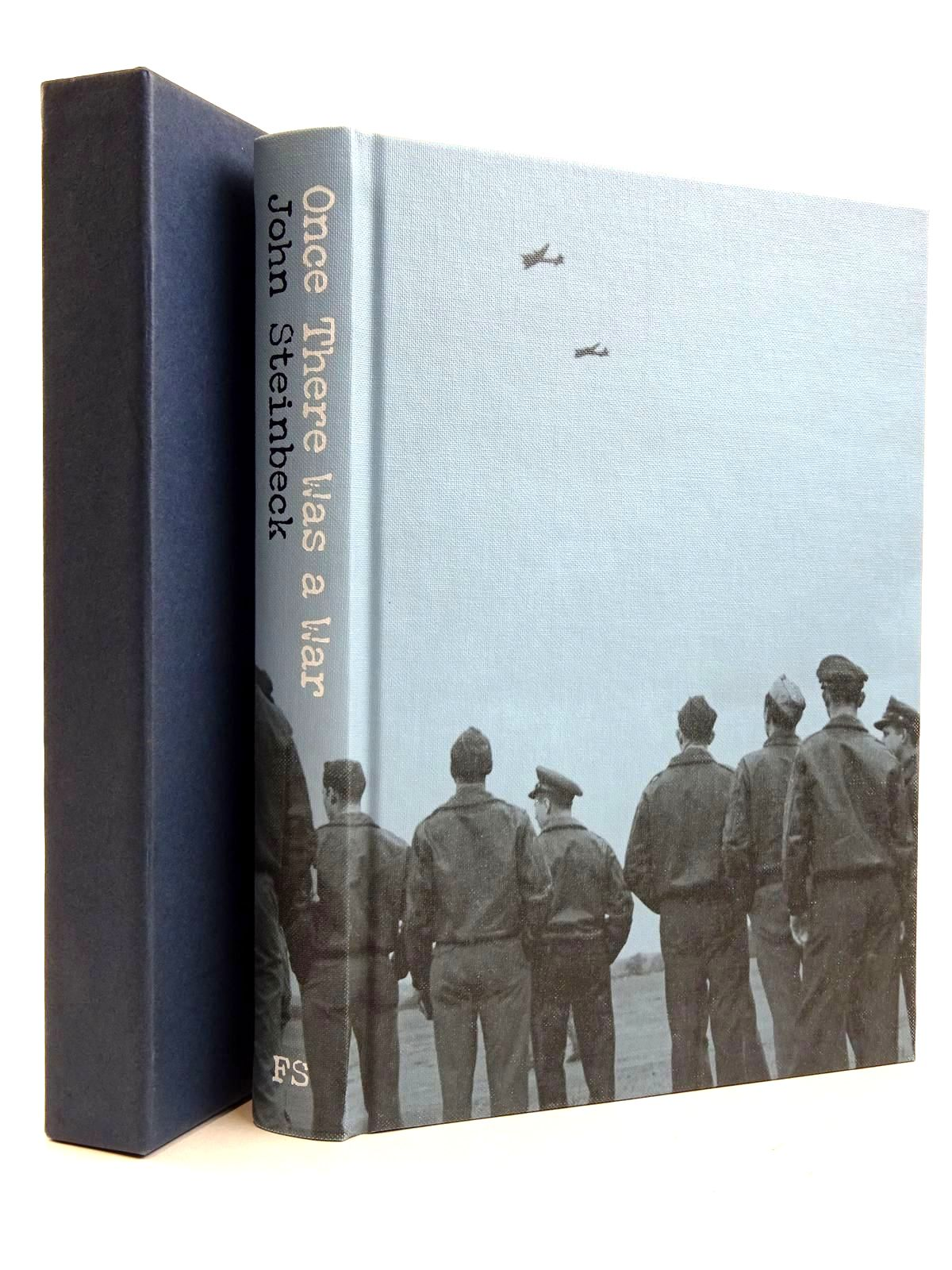 Photo of ONCE THERE WAS A WAR written by Steinbeck, John published by Folio Society (STOCK CODE: 2131675)  for sale by Stella & Rose's Books