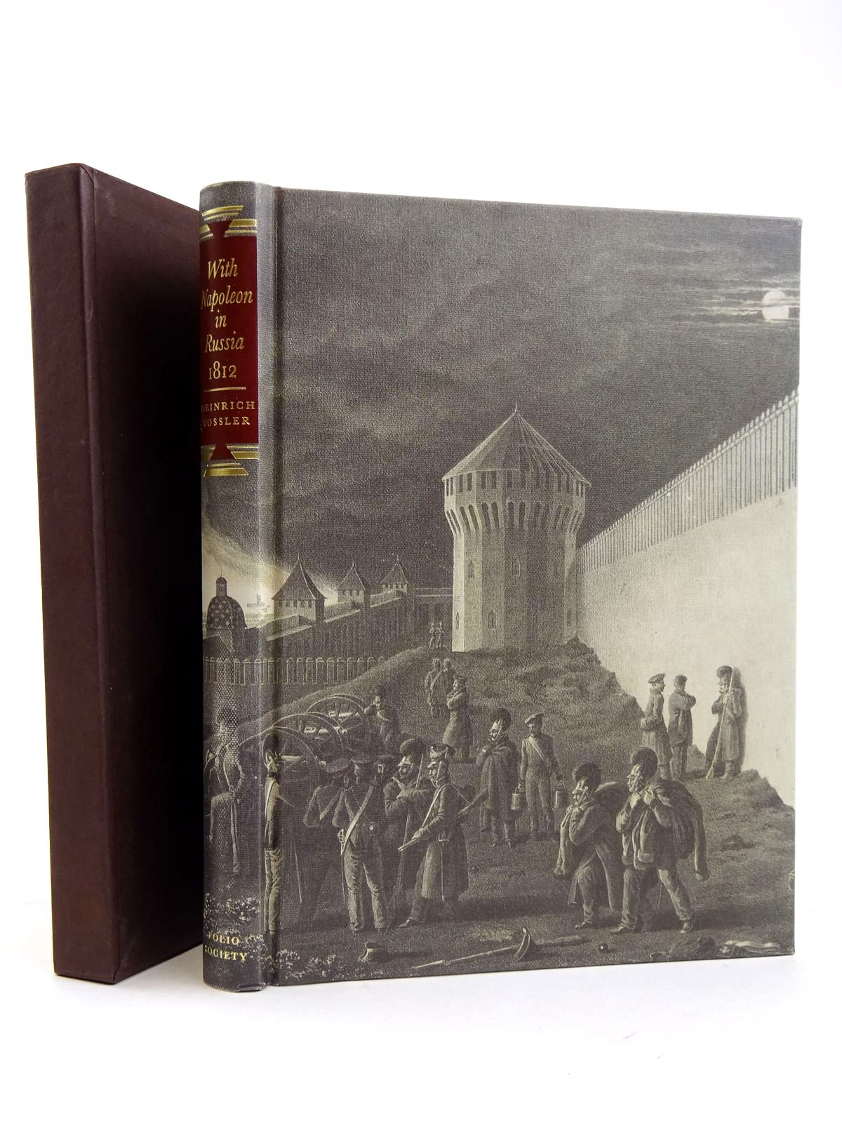 Photo of WITH NAPOLEON IN RUSSIA 1812 written by Vossler, H.A. Wallich, Walter illustrated by Von Faber Du Faur, Christian-Wilhelm published by Folio Society (STOCK CODE: 2131676)  for sale by Stella & Rose's Books
