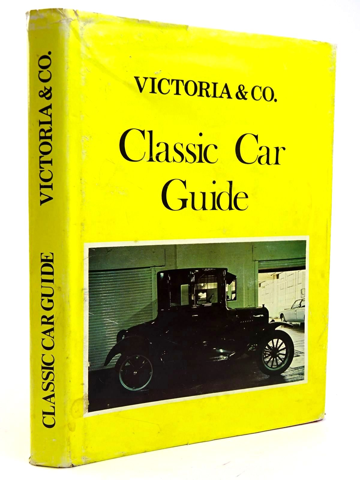 Photo of VICTORIA & CO. CLASSIC CAR GUIDE- Stock Number: 2131686