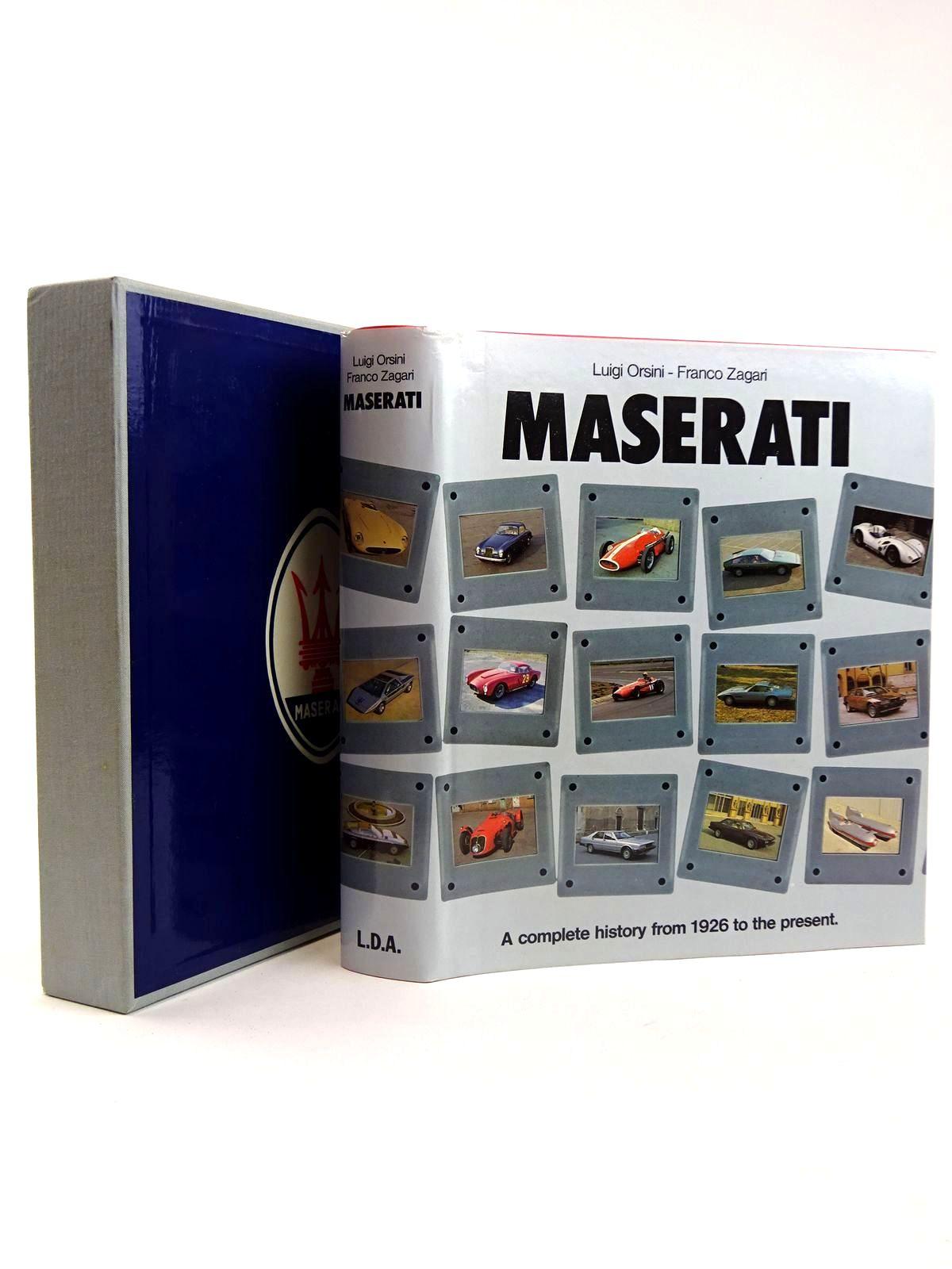 Photo of MASERATI written by Orsini, Luigi Zagari, Franco published by Libreria Dell'Automobile (STOCK CODE: 2131693)  for sale by Stella & Rose's Books
