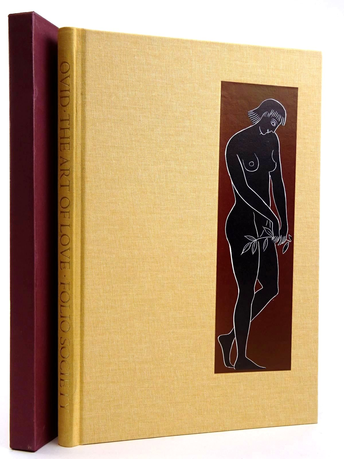 Photo of THE ART OF LOVE written by Ovid, <br />Naso, Publius Ovidius<br />Michie, James illustrated by Baker, Grahame published by Folio Society (STOCK CODE: 2131719)  for sale by Stella & Rose's Books