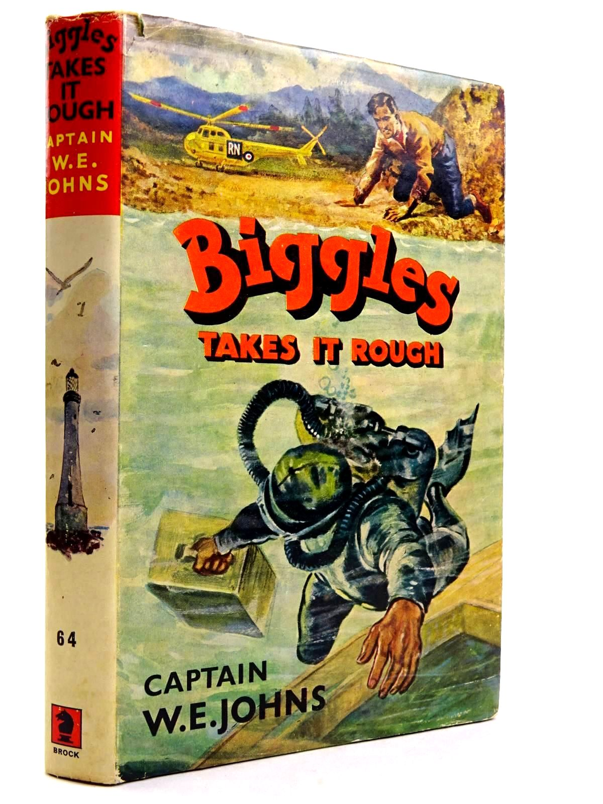 Photo of BIGGLES TAKES IT ROUGH written by Johns, W.E. illustrated by Stead,  published by Brockhampton Press (STOCK CODE: 2131728)  for sale by Stella & Rose's Books