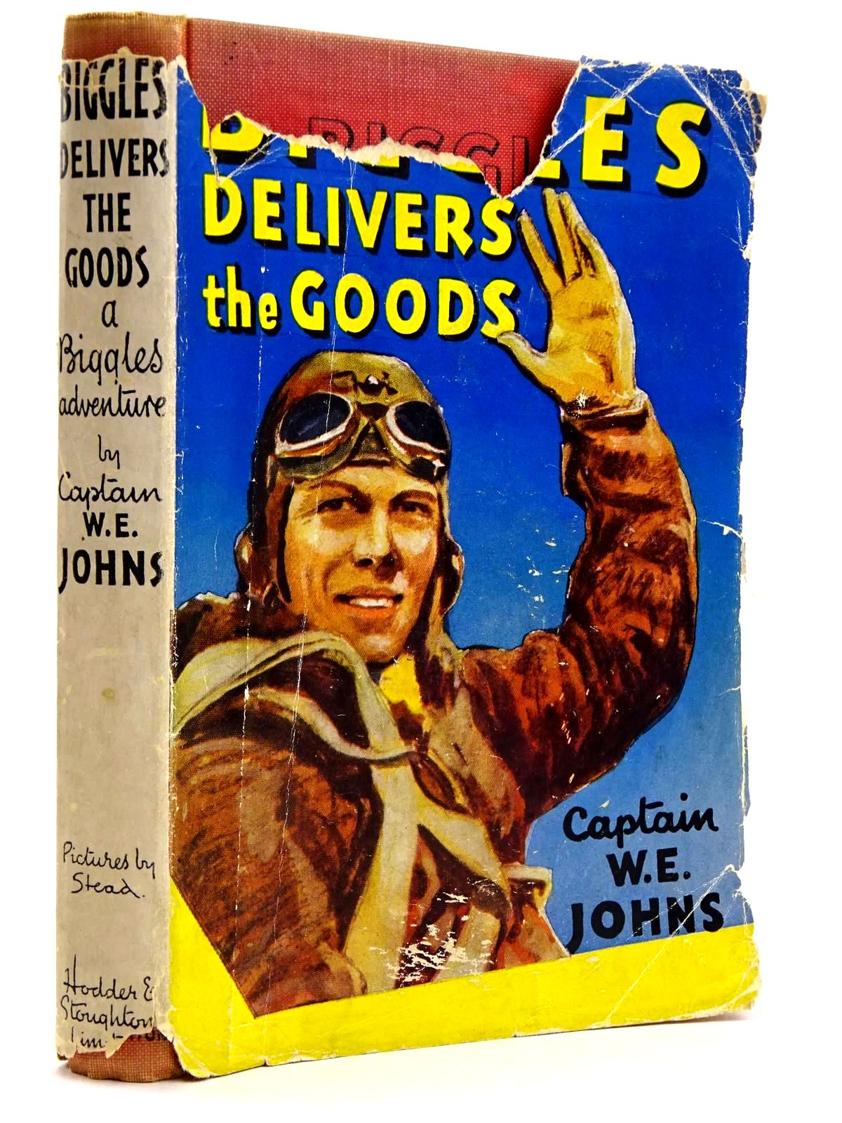 Photo of BIGGLES DELIVERS THE GOODS written by Johns, W.E. illustrated by Stead,  published by Hodder & Stoughton (STOCK CODE: 2131739)  for sale by Stella & Rose's Books