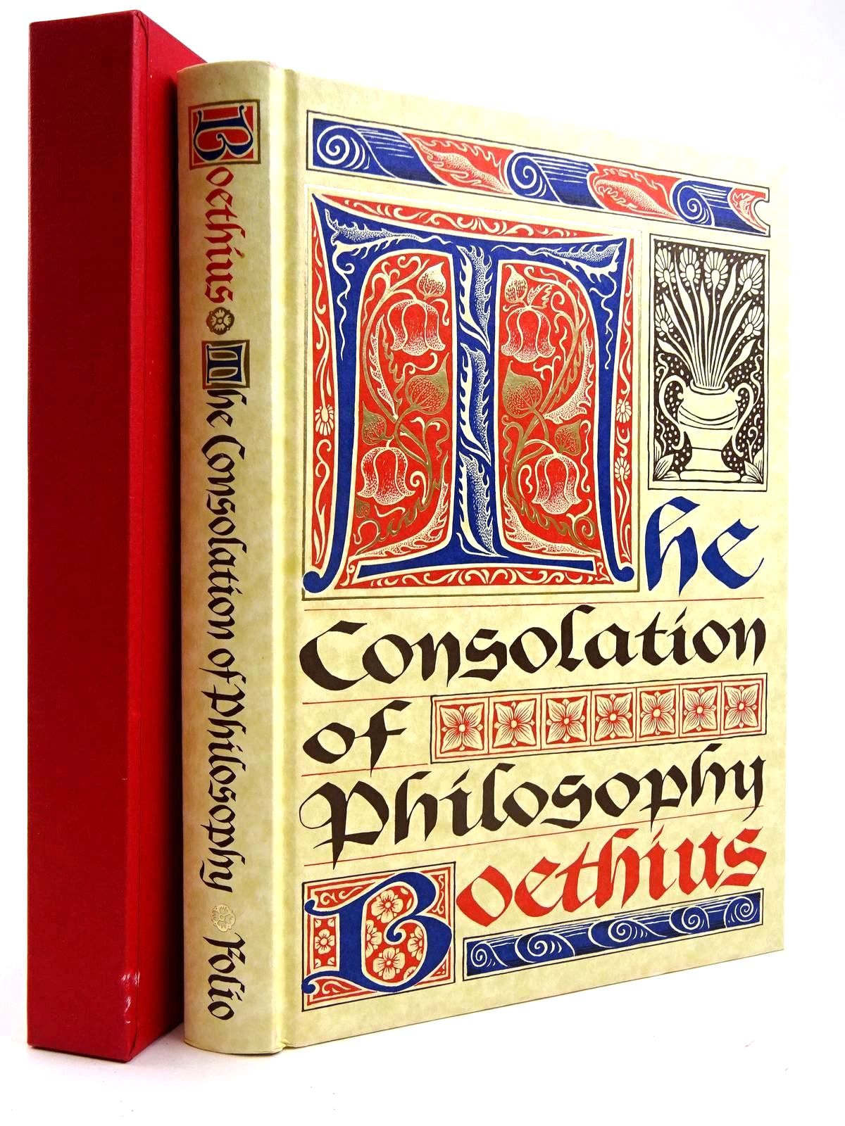 Photo of THE CONSOLATION OF PHILOSOPHY written by Boethius, <br />Watts, V.E. published by Folio Society (STOCK CODE: 2131765)  for sale by Stella & Rose's Books