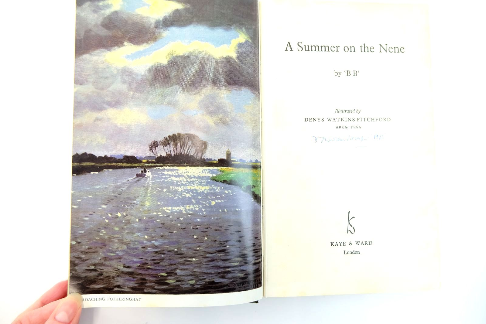 Photo of A SUMMER ON THE NENE written by BB,  illustrated by BB,  published by Kaye & Ward Ltd. (STOCK CODE: 2131772)  for sale by Stella & Rose's Books