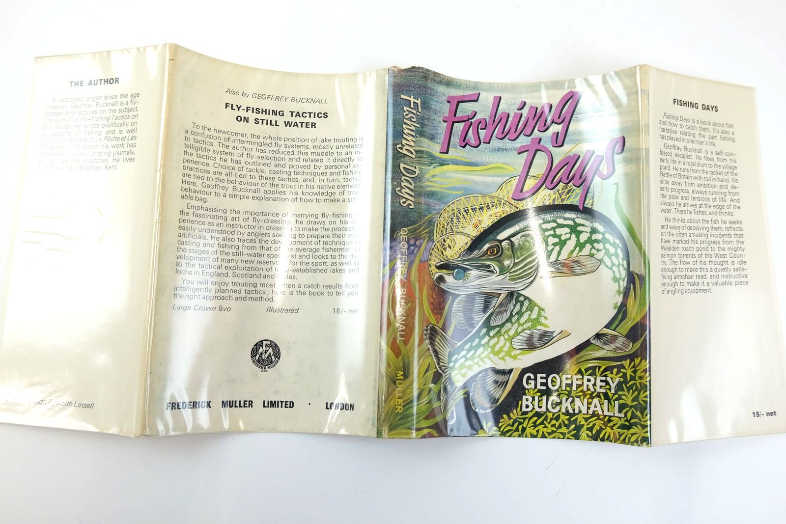 Photo of FISHING DAYS written by Bucknall, Geoffrey illustrated by Linsell, Keith published by Frederick Muller Limited (STOCK CODE: 2131773)  for sale by Stella & Rose's Books
