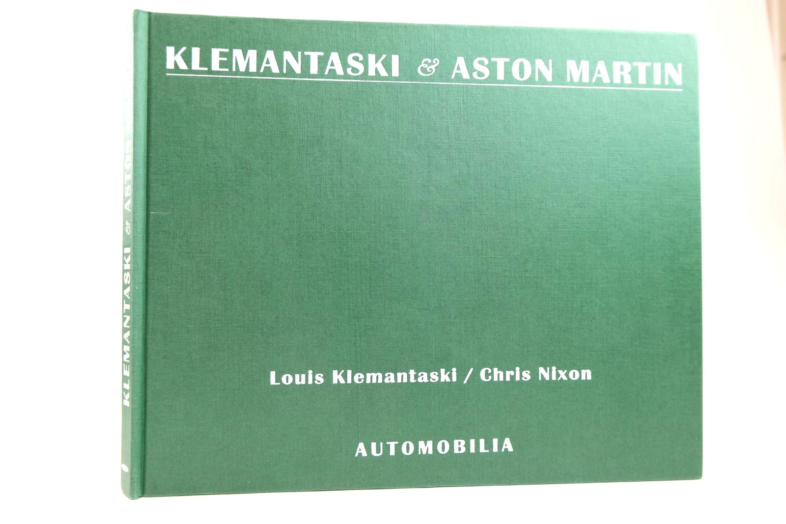 Photo of KLEMANTASKI & ASTON MARTIN 1948-1959 written by Klemantaski, Louis Nixon, Chris published by Automobilia (STOCK CODE: 2131778)  for sale by Stella & Rose's Books