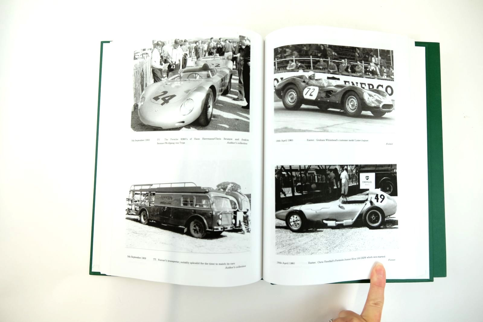 Photo of A RECORD OF MOTOR RACING AT GOODWOOD (2 VOLUMES) written by Barker, Robert published by St Leonards Books (STOCK CODE: 2131780)  for sale by Stella & Rose's Books