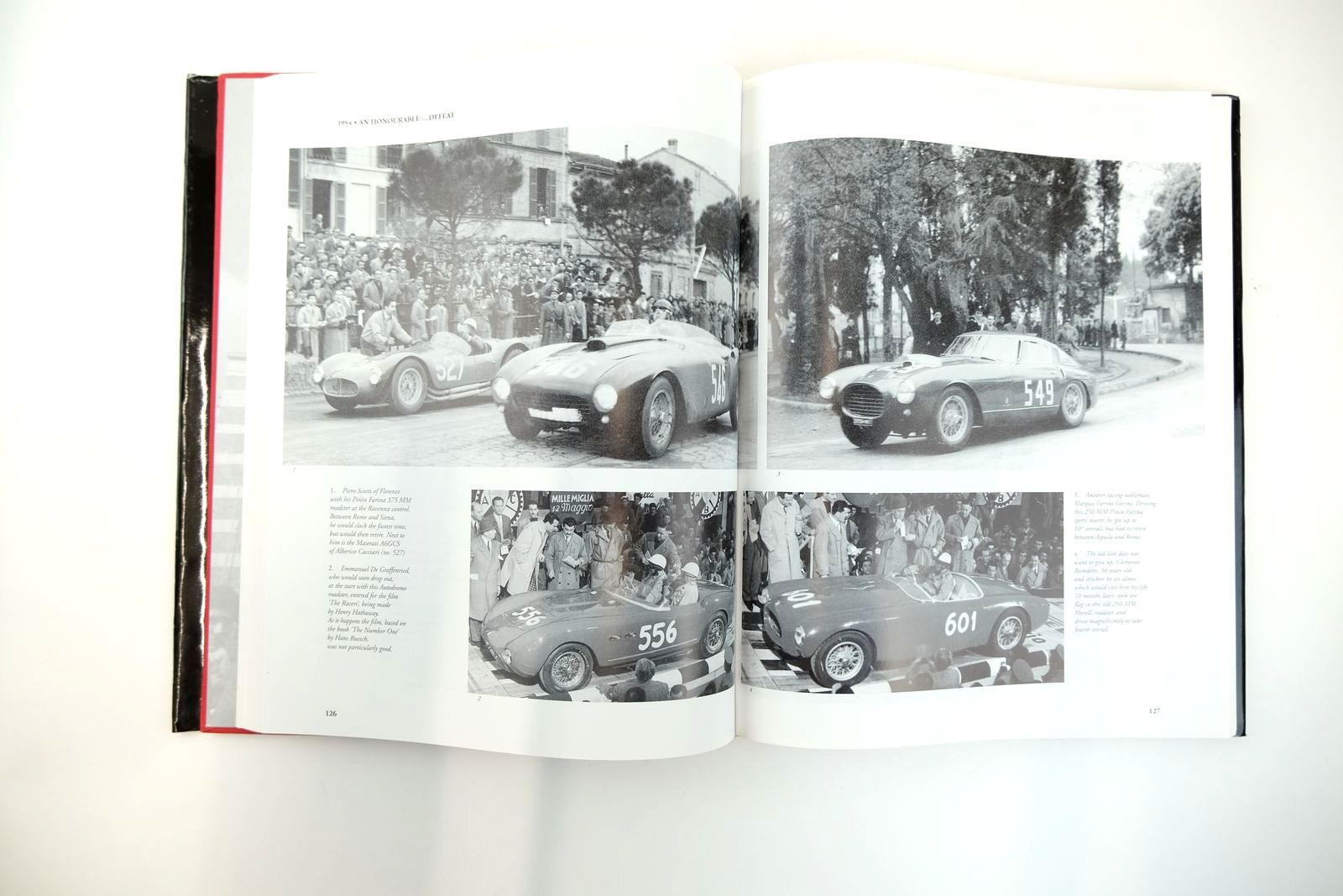 Photo of RED ARROWS FERRARIS AT THE MILLE MIGLIA written by Marzotto, Giannino Cassano, Sergio published by Giorgio Nada Editore (STOCK CODE: 2131781)  for sale by Stella & Rose's Books