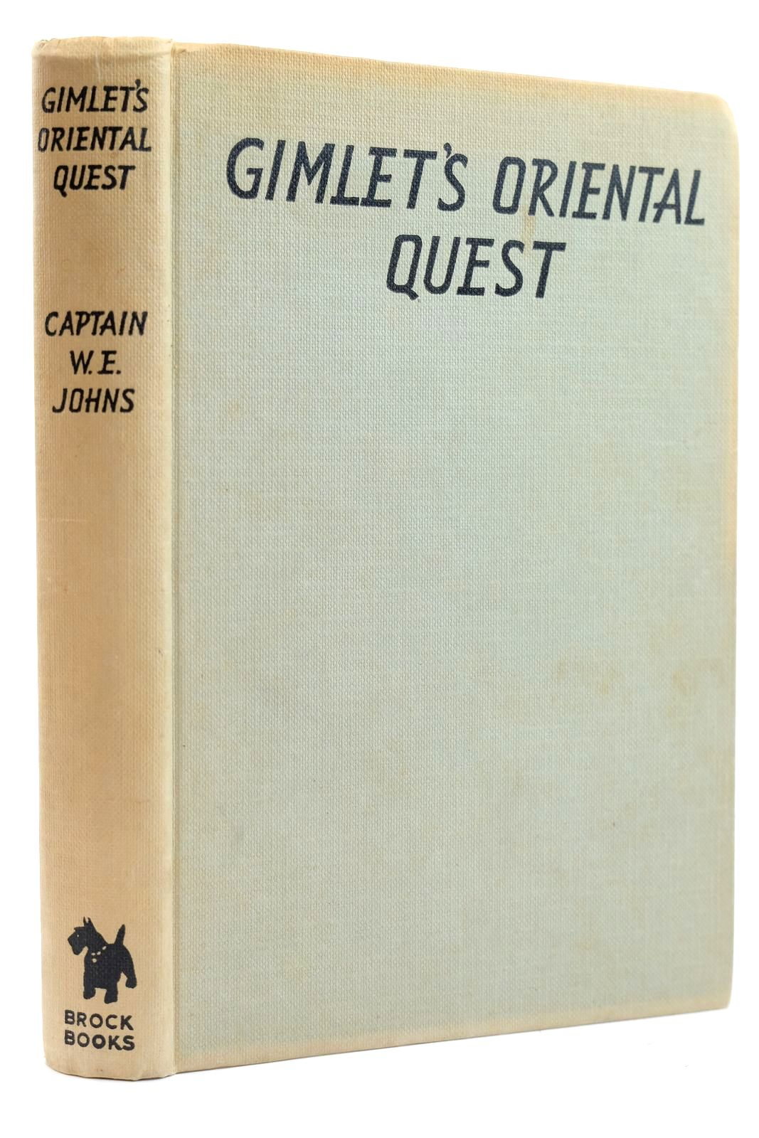 Photo of GIMLET'S ORIENTAL QUEST written by Johns, W.E. illustrated by Stead, Leslie published by Brockhampton Press (STOCK CODE: 2131798)  for sale by Stella & Rose's Books
