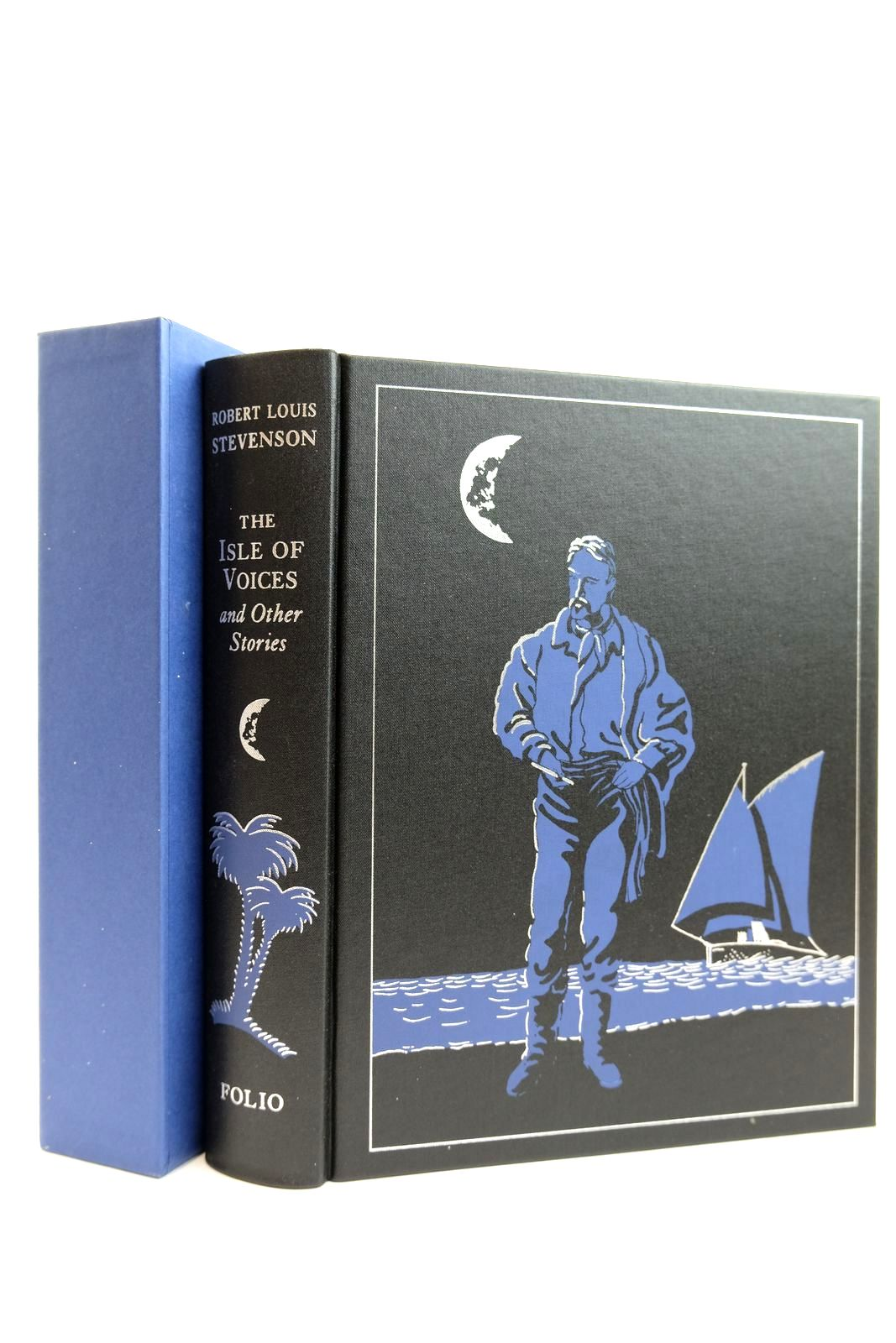 Photo of THE ISLE OF VOICES AND OTHER STORIES written by Stevenson, Robert Louis illustrated by Foreman, Michael published by Folio Society (STOCK CODE: 2131812)  for sale by Stella & Rose's Books
