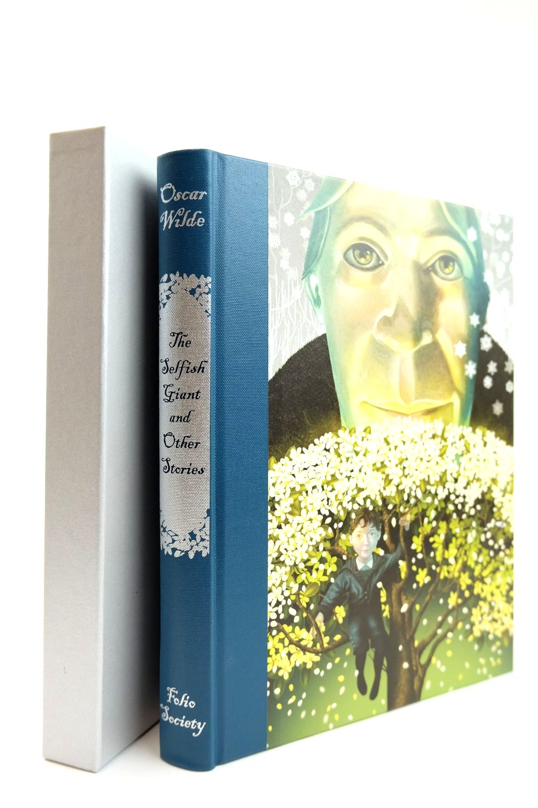 Photo of THE SELFISH GIANT AND OTHER STORIES written by Wilde, Oscar illustrated by Baker-Smith, Grahame published by Folio Society (STOCK CODE: 2131813)  for sale by Stella & Rose's Books
