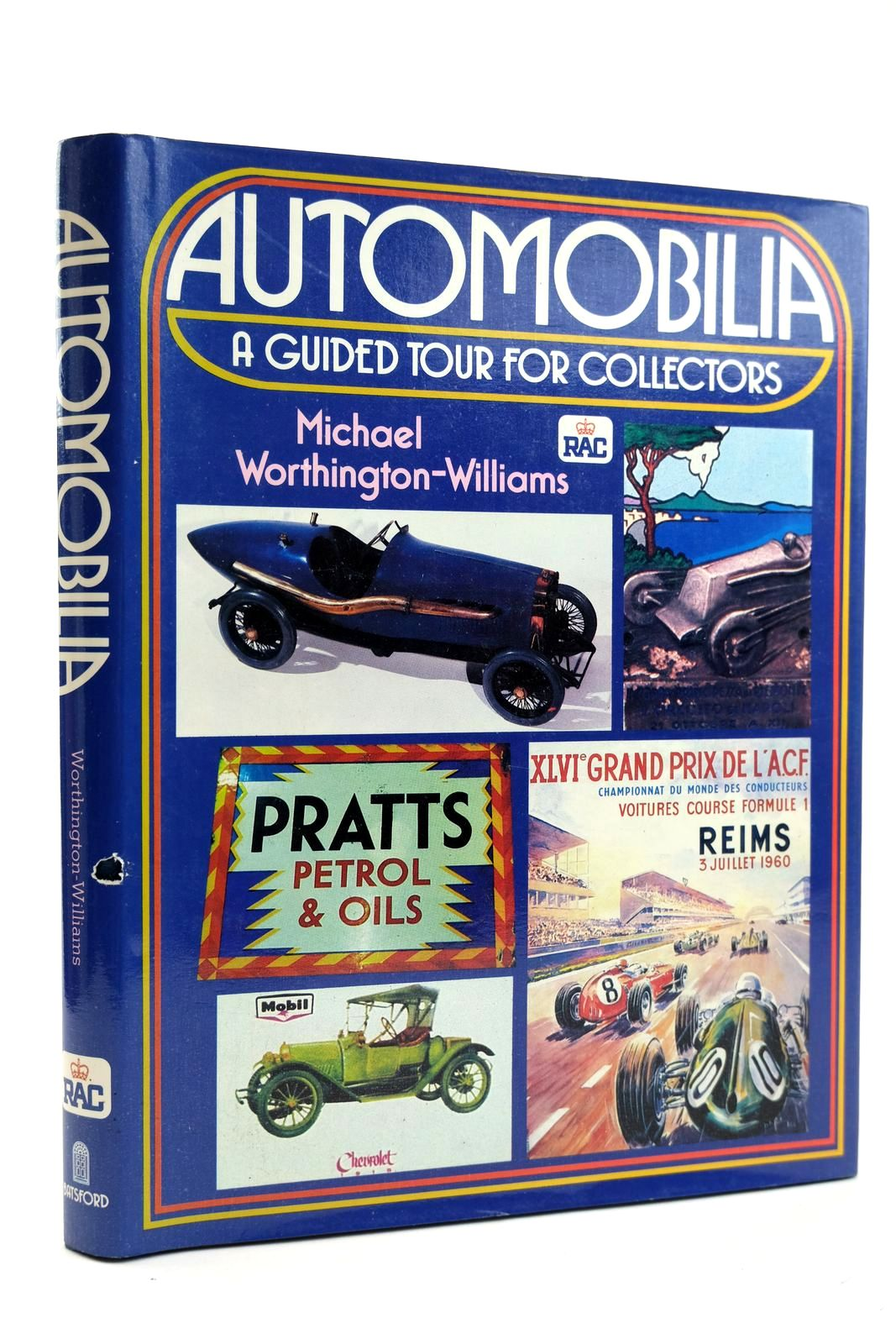 Photo of AUTOMOBILIA written by Worthington-Williams, Michael published by B.T. Batsford, Royal Automobile Club (STOCK CODE: 2131816)  for sale by Stella & Rose's Books