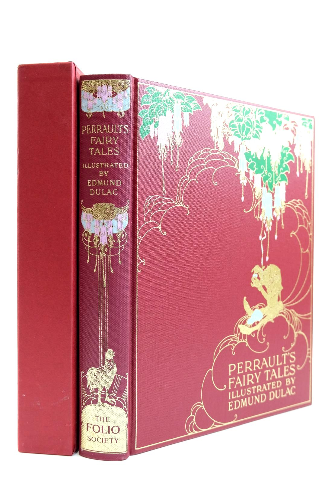 Photo of THE FAIRY TALES OF CHARLES PERRAULT written by Perrault, Charles illustrated by Dulac, Edmund published by Folio Society (STOCK CODE: 2131833)  for sale by Stella & Rose's Books