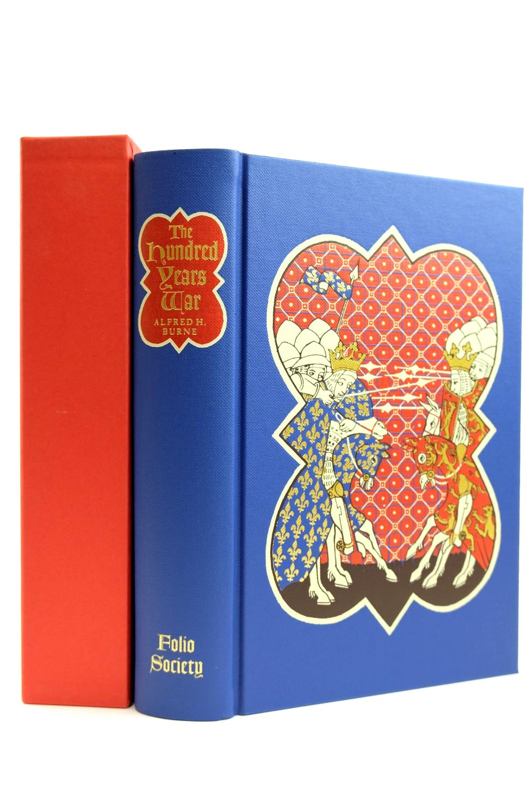 Photo of THE HUNDRED YEARS WAR written by Burne, Alfred H.<br />Sumption, Jonathan published by Folio Society (STOCK CODE: 2131840)  for sale by Stella & Rose's Books