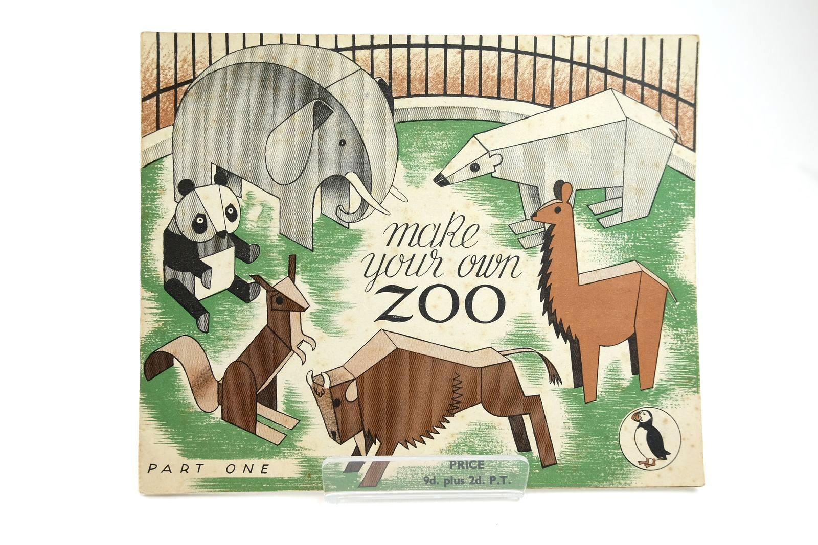 Photo of MAKE YOUR OWN ZOO PART ONE written by Trix,  illustrated by Trix,  published by Penguin (STOCK CODE: 2131845)  for sale by Stella & Rose's Books