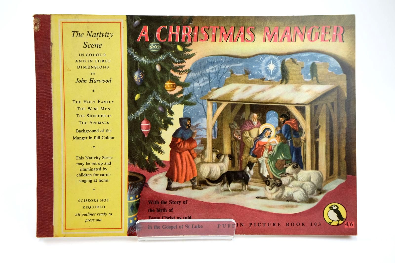Photo of A CHRISTMAS MANGER illustrated by Harwood, John published by Penguin Books (STOCK CODE: 2131846)  for sale by Stella & Rose's Books