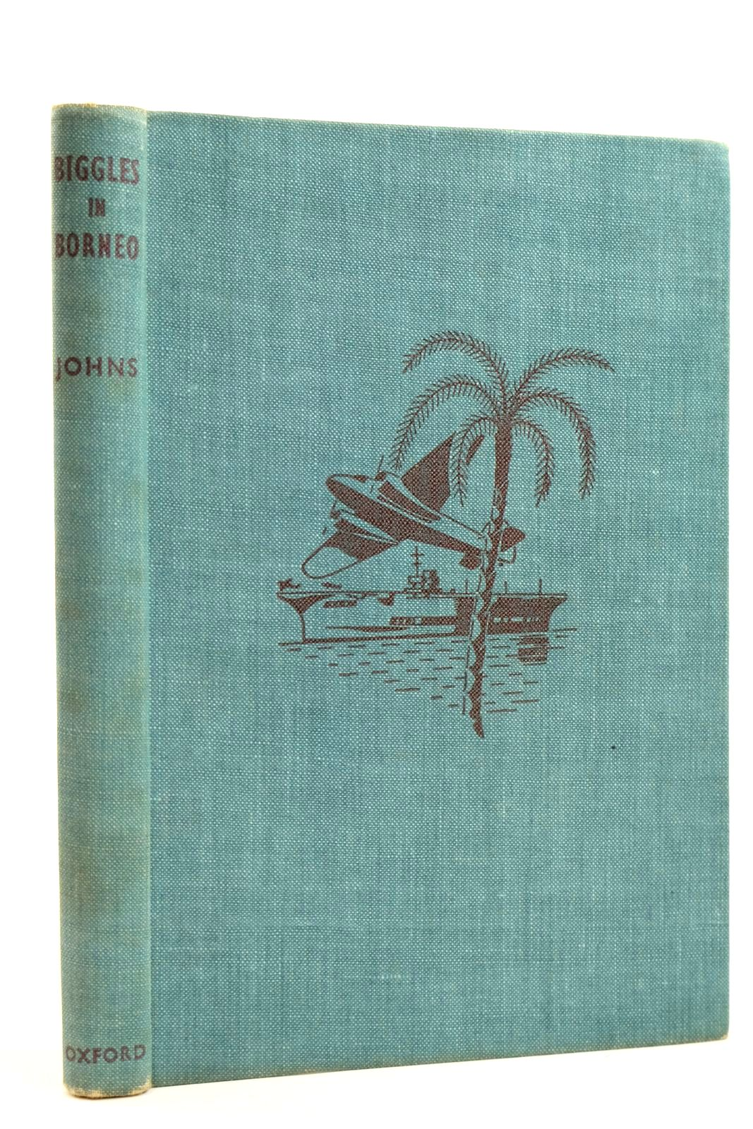Photo of BIGGLES IN BORNEO written by Johns, W.E. illustrated by Tresilian, Stuart published by Oxford University Press (STOCK CODE: 2131851)  for sale by Stella & Rose's Books