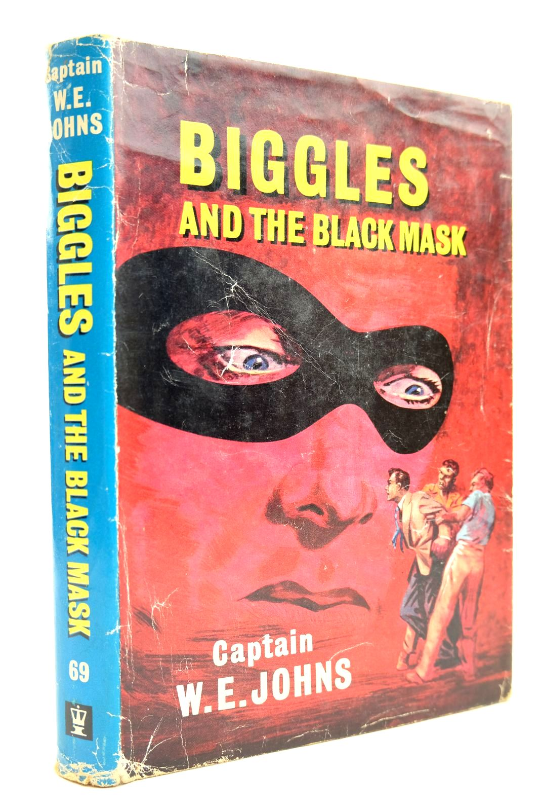 Photo of BIGGLES AND THE BLACK MASK written by Johns, W.E. illustrated by Stead,  published by Hodder & Stoughton (STOCK CODE: 2131853)  for sale by Stella & Rose's Books