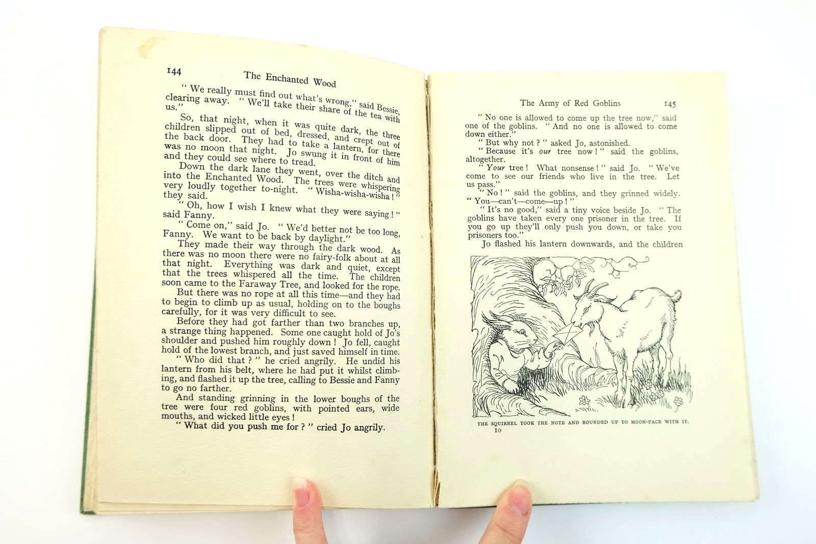 Photo of THE ENCHANTED WOOD written by Blyton, Enid illustrated by Wheeler, Dorothy published by George Newnes Ltd. (STOCK CODE: 2131859)  for sale by Stella & Rose's Books