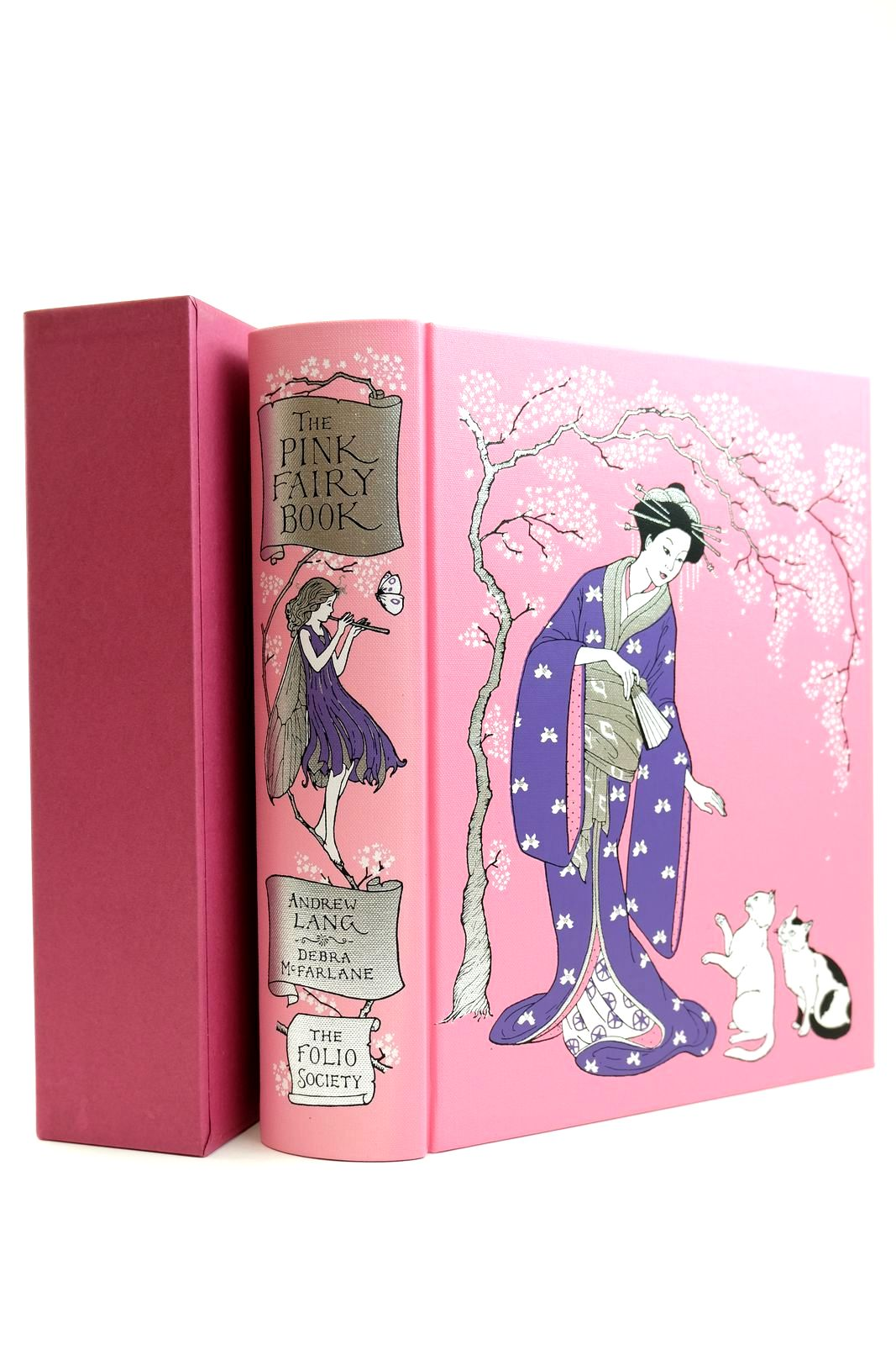 Photo of THE PINK FAIRY BOOK written by Lang, Andrew illustrated by McFarlane, Debra published by Folio Society (STOCK CODE: 2131864)  for sale by Stella & Rose's Books