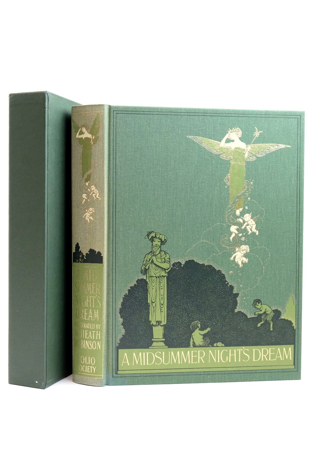 Photo of A MIDSUMMER NIGHT'S DREAM written by Shakespeare, William illustrated by Robinson, W. Heath published by Folio Society (STOCK CODE: 2131873)  for sale by Stella & Rose's Books