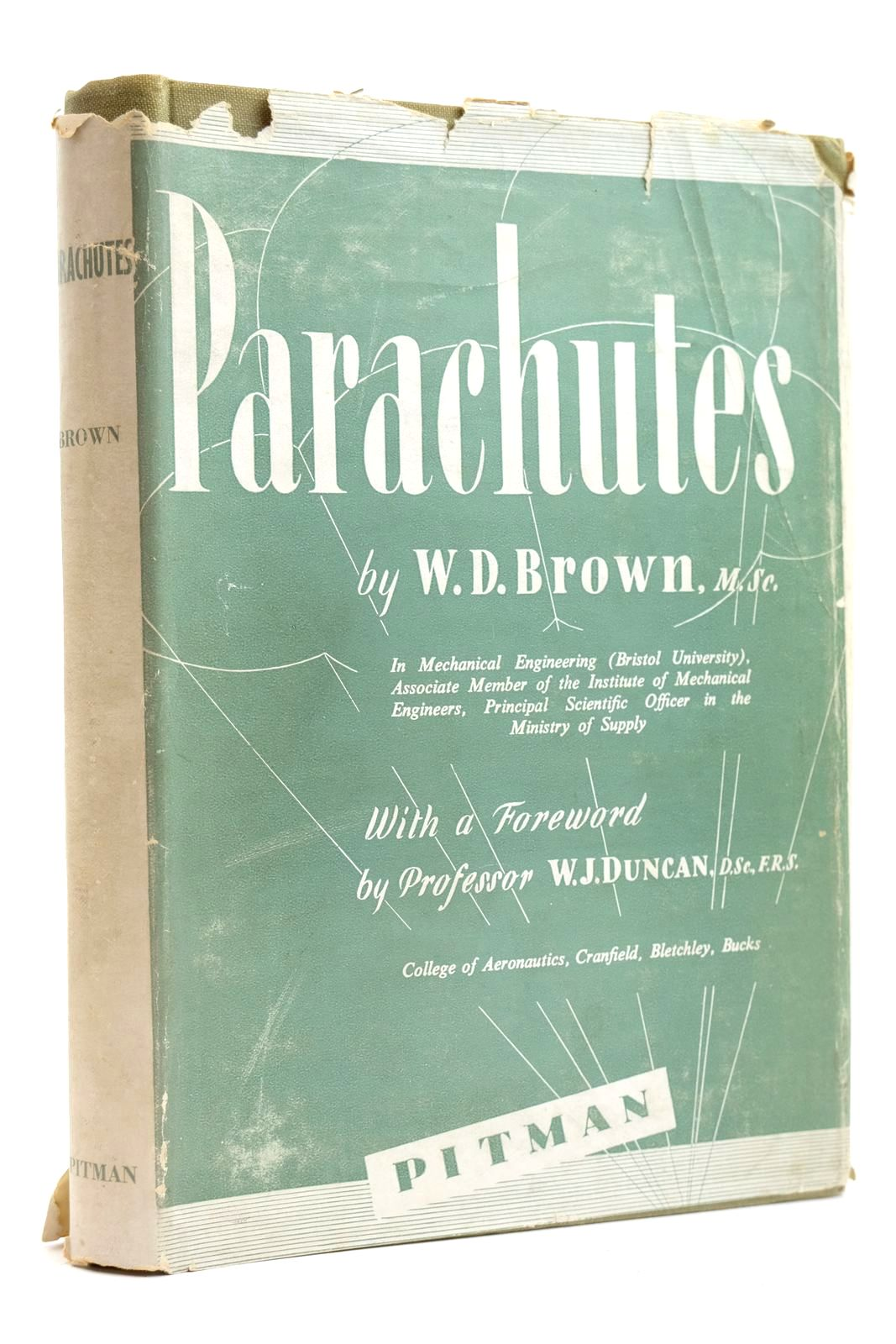 Photo of PARACHUTES written by Brown, W.D. Duncan, W.J. published by Sir Isaac Pitman & Sons Ltd. (STOCK CODE: 2131881)  for sale by Stella & Rose's Books