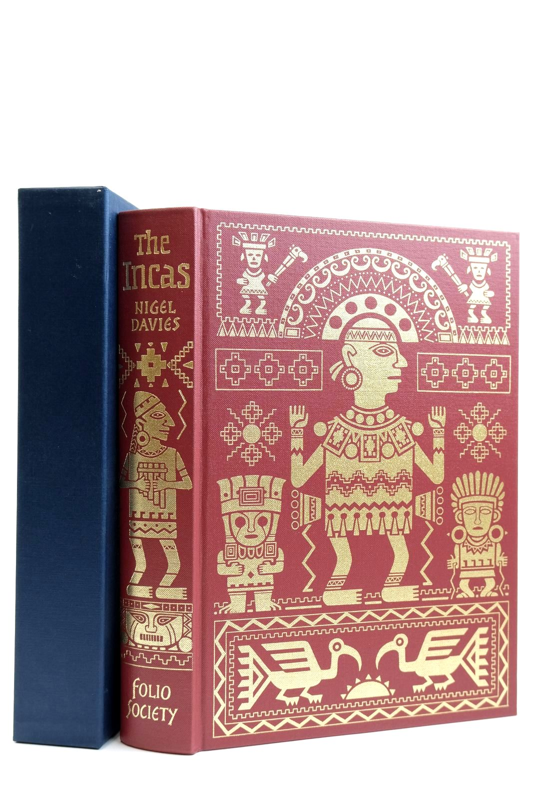 Photo of THE INCAS written by Davies, Nigel Bray, Warwick published by Folio Society (STOCK CODE: 2131900)  for sale by Stella & Rose's Books