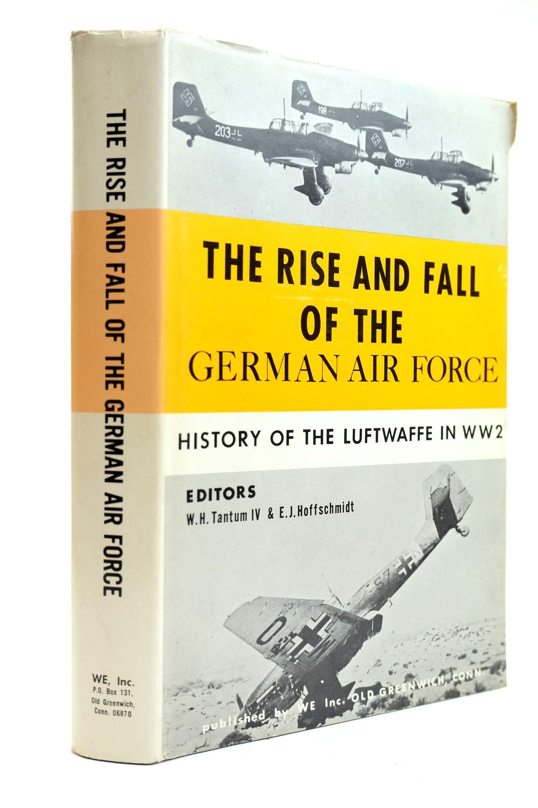 Photo of THE RISE AND FALL OF THE GERMAN AIR FORCE (1933 TO 1945) written by Tantum, W.H.<br />Hoffschmidt, E.J. published by WE Inc. (STOCK CODE: 2131907)  for sale by Stella & Rose's Books