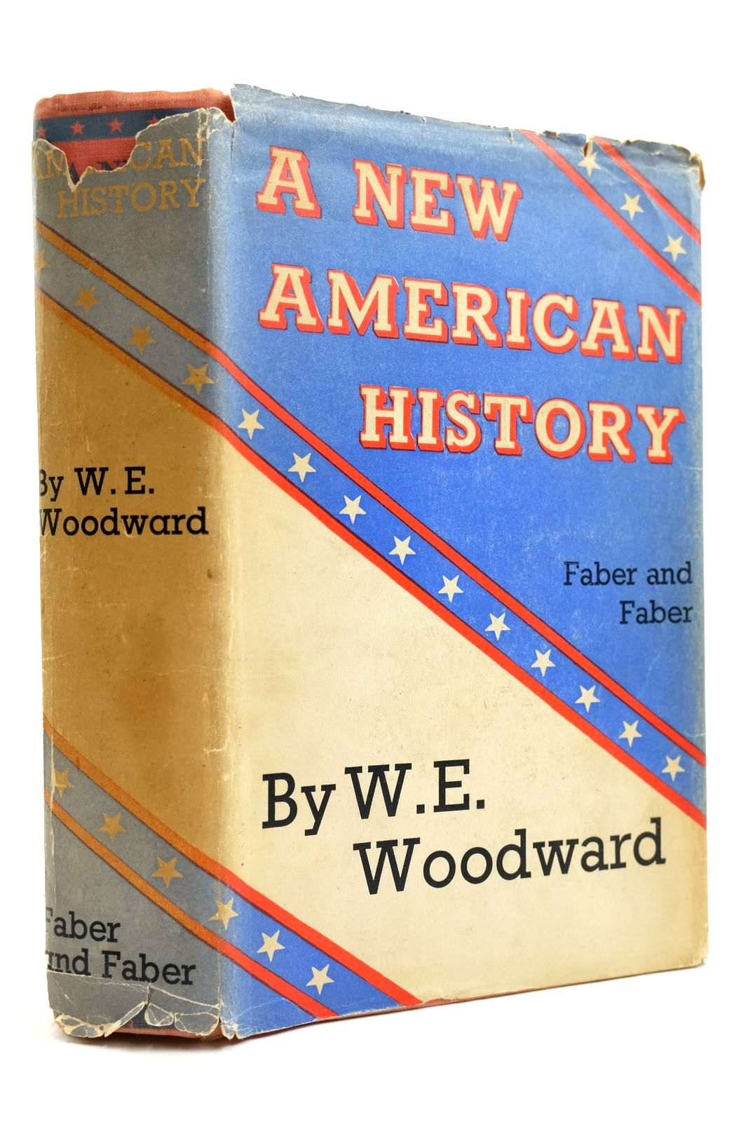Photo of A NEW AMERICAN HISTORY written by Woodward, W.E. published by Faber & Faber Limited (STOCK CODE: 2131916)  for sale by Stella & Rose's Books