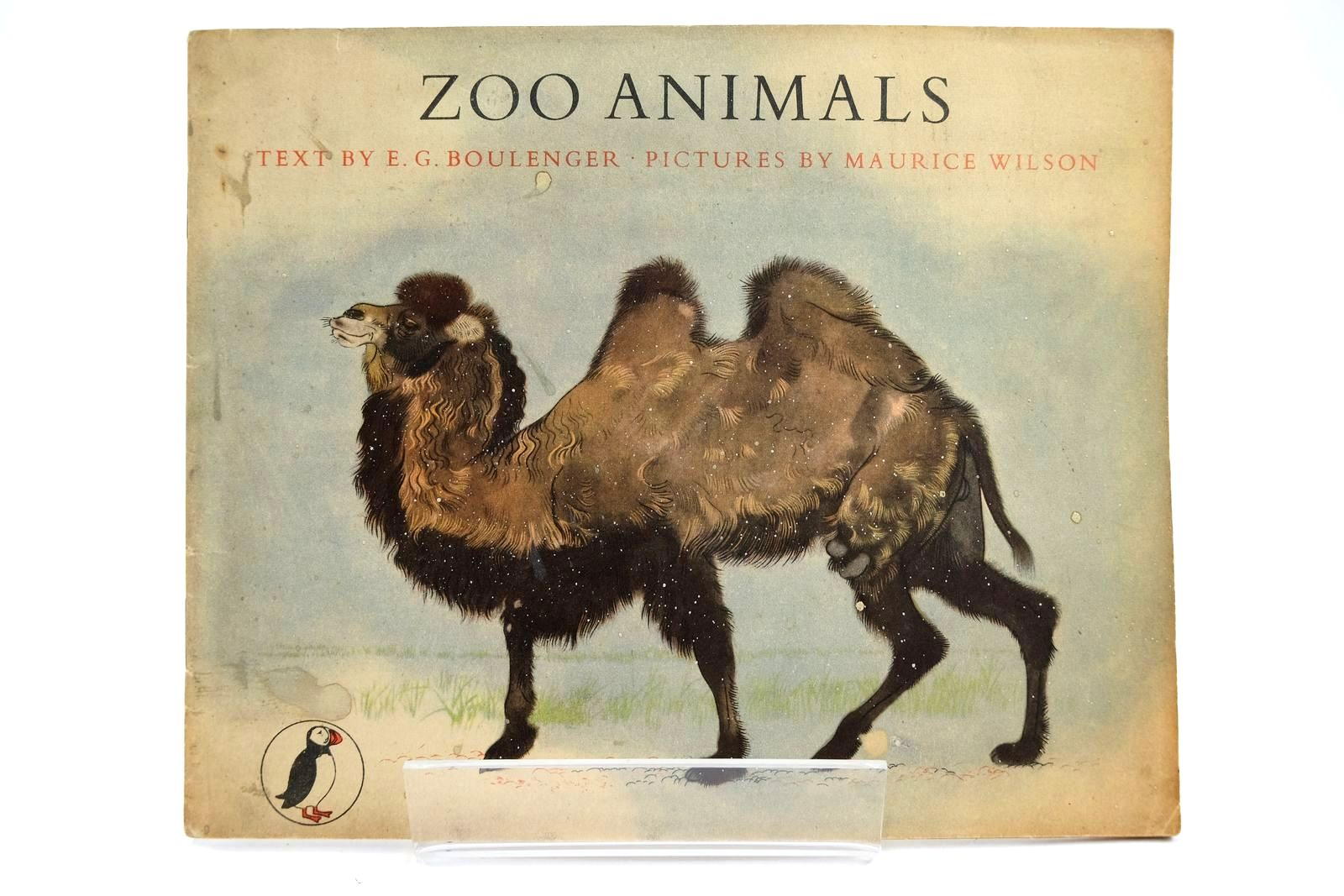 Photo of ZOO ANIMALS written by Boulenger, E.G. illustrated by Wilson, Maurice published by Penguin (STOCK CODE: 2131945)  for sale by Stella & Rose's Books