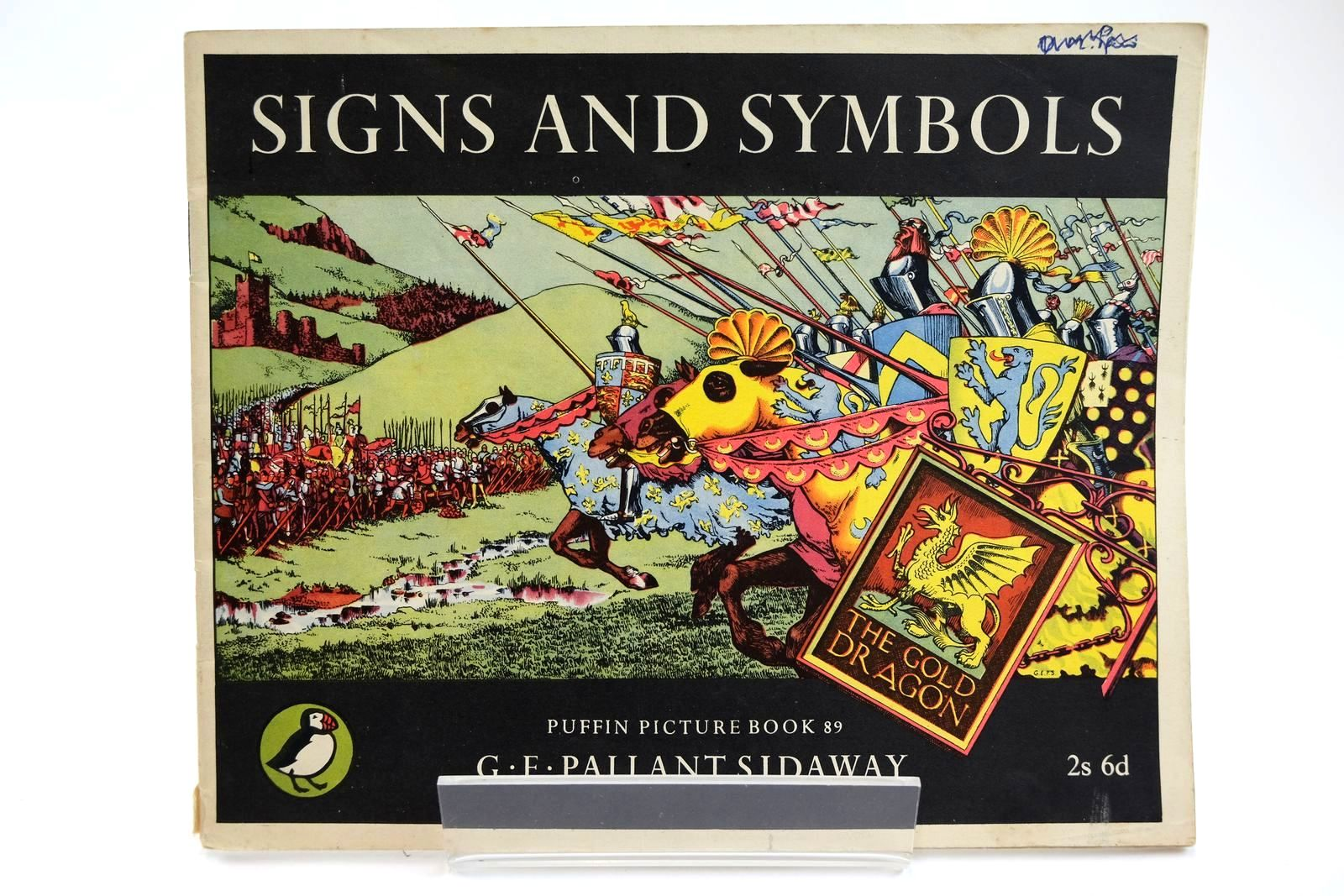 Photo of SIGNS AND SYMBOLS written by Sidaway, G.E. Pallant illustrated by Sidaway, G.E. Pallant published by Penguin (STOCK CODE: 2131950)  for sale by Stella & Rose's Books