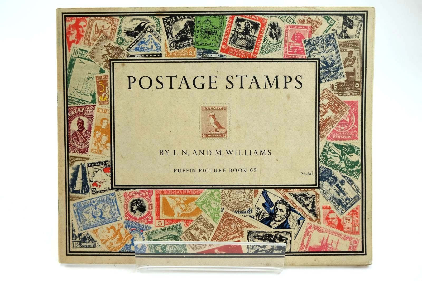 Photo of POSTAGE STAMPS written by Williams, L.N. Williams, M. illustrated by Turner, Sydney R. published by Penguin (STOCK CODE: 2131952)  for sale by Stella & Rose's Books