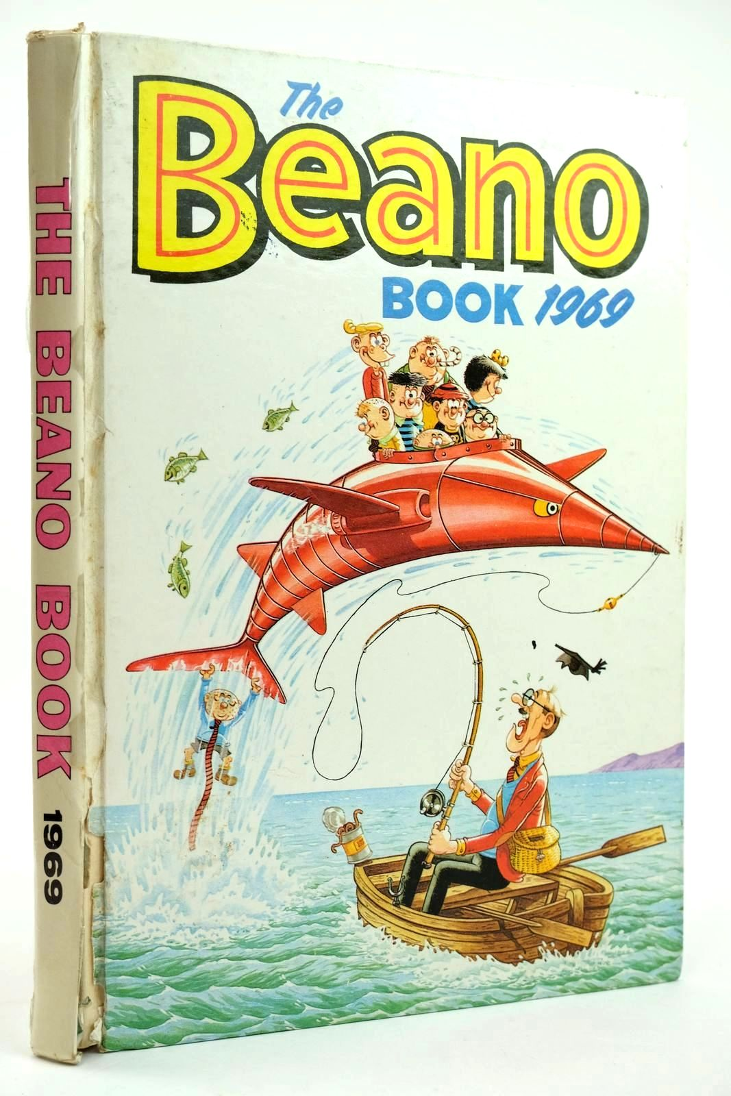 Photo of THE BEANO BOOK 1969 published by D.C. Thomson & Co Ltd. (STOCK CODE: 2131960)  for sale by Stella & Rose's Books