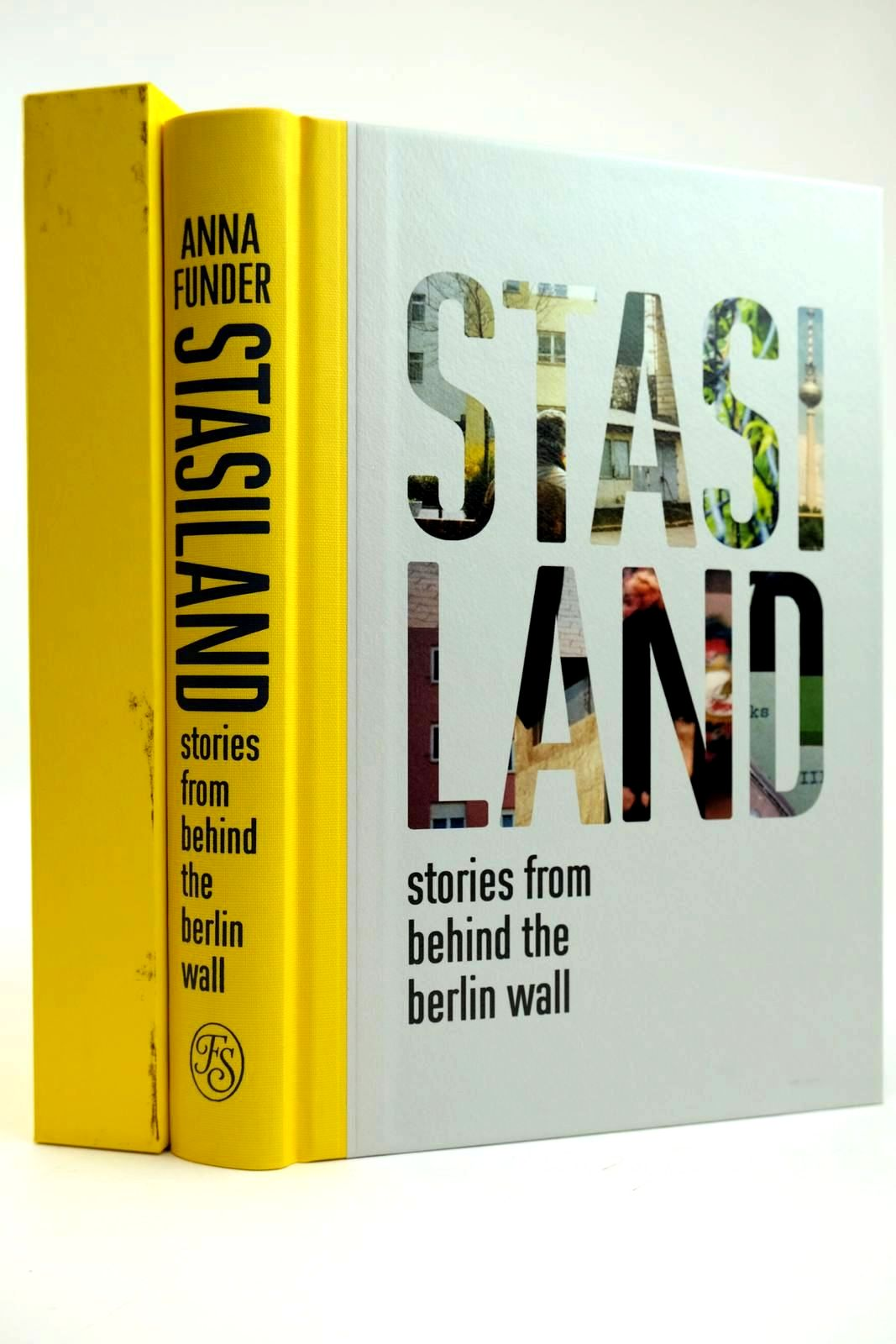 Photo of STASILAND STORIES FROM BEHIND THE BERLIN WALL written by Funder, Anna published by Folio Society (STOCK CODE: 2132032)  for sale by Stella & Rose's Books
