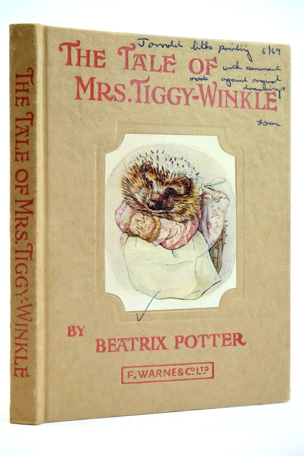 Photo of THE TALE OF MRS. TIGGY-WINKLE- Stock Number: 2132061