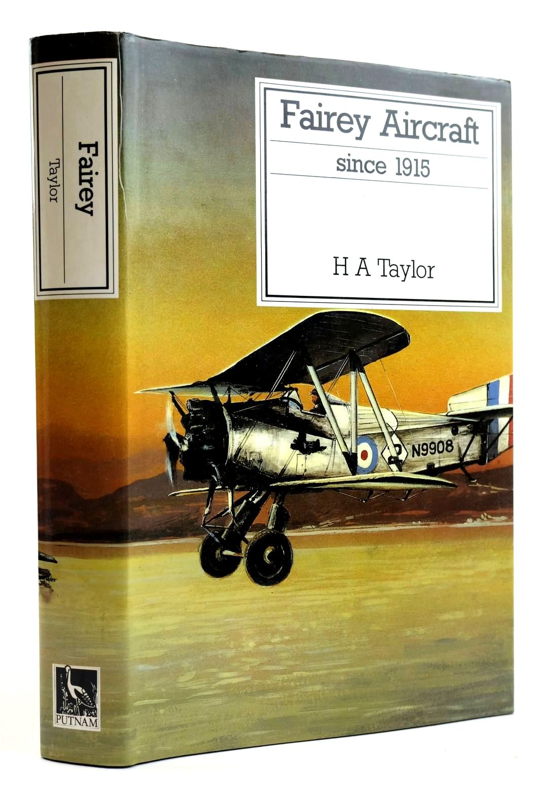 Photo of FAIREY AIRCRAFT SINCE 1915 written by Taylor, H.A. published by Putnam (STOCK CODE: 2132079)  for sale by Stella & Rose's Books