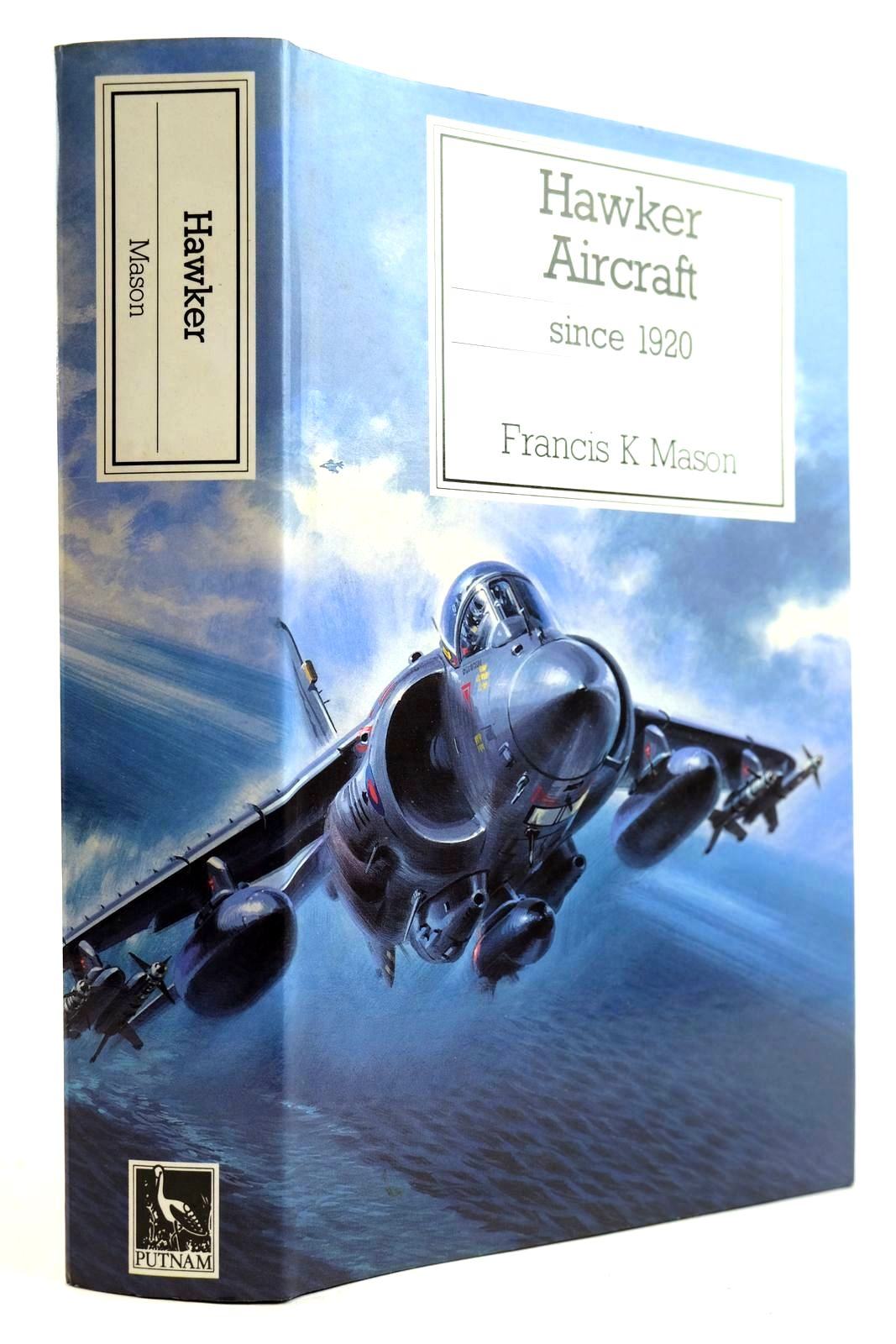 Photo of HAWKER AIRCRAFT SINCE 1920 written by Mason, Francis K. published by Putnam Aeronautical Books (STOCK CODE: 2132085)  for sale by Stella & Rose's Books