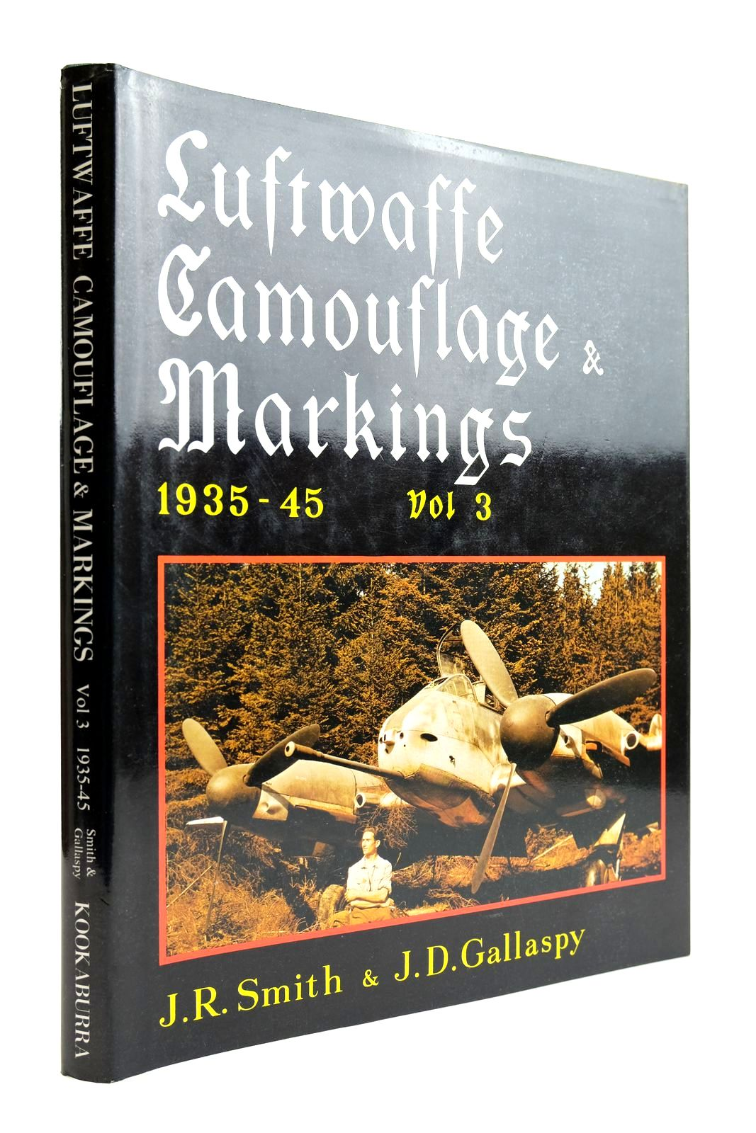 Photo of LUFTWAFFE CAMOUFLAGE & MARKINGS 1935-45 VOL 3 written by Smith, J.R. Gallaspy, J.D. illustrated by Pentland, Geoffrey Creek, E.J. published by Kookaburra Technical Publications (STOCK CODE: 2132115)  for sale by Stella & Rose's Books