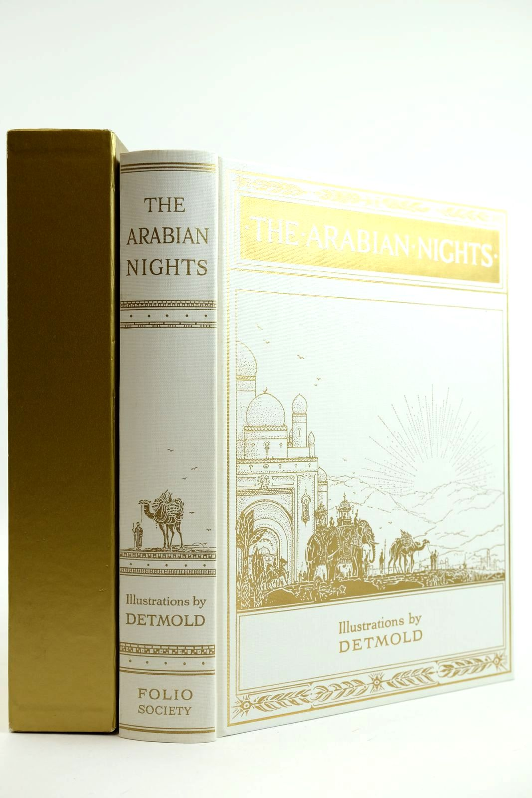 Photo of THE ARABIAN NIGHTS illustrated by Detmold, Edward J. published by Folio Society (STOCK CODE: 2132134)  for sale by Stella & Rose's Books