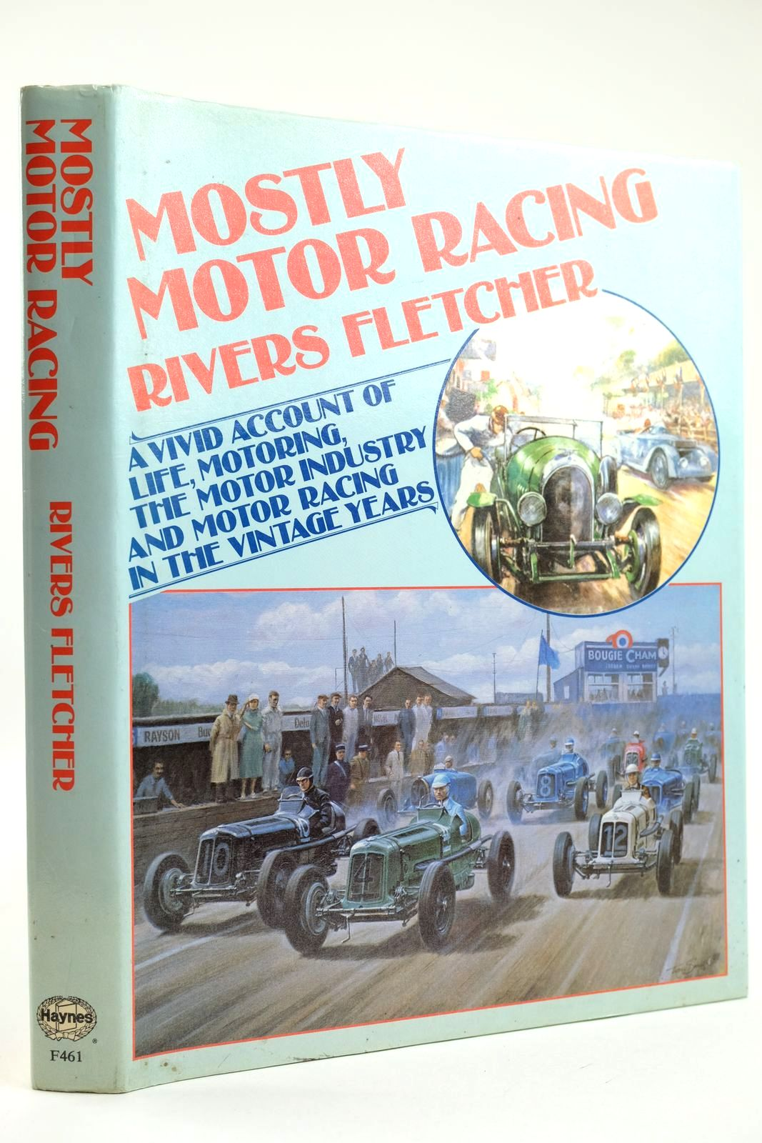 Photo of MOSTLY MOTOR RACING written by Fletcher, Rivers published by Foulis, Haynes Publishing Group (STOCK CODE: 2132138)  for sale by Stella & Rose's Books